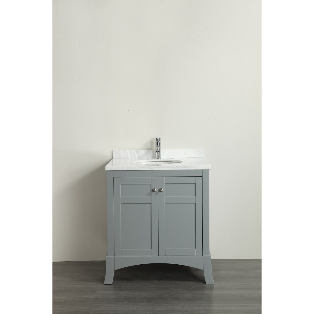 eviva new york 30 single bathroom vanity set wayfair