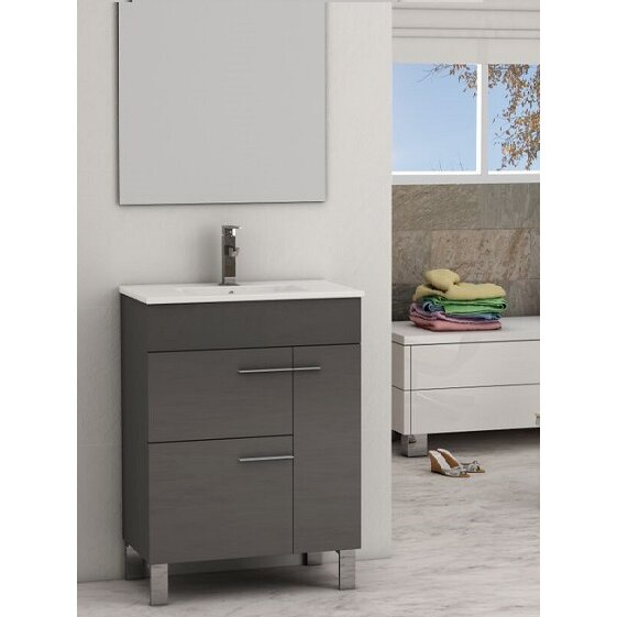24 inch bathroom vanity cabinet eviva cup 174 24 quot single modern bathroom vanity set amp reviews 10126