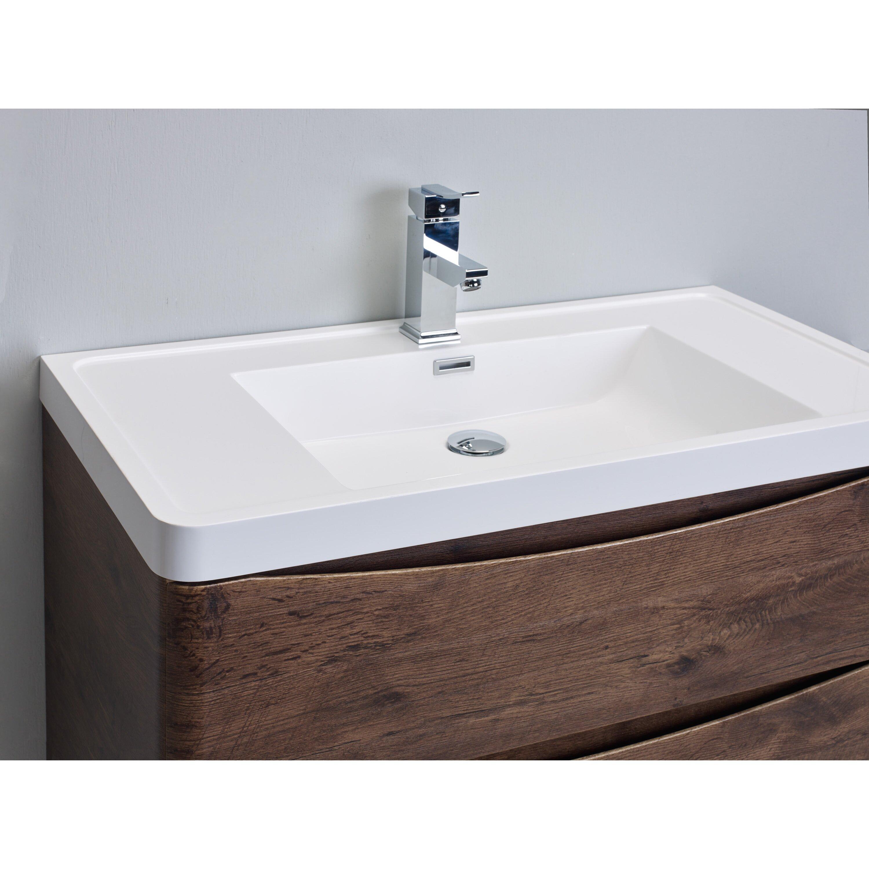 Eviva Smile 30 Single Modern Bathroom Vanity Set Wayfair