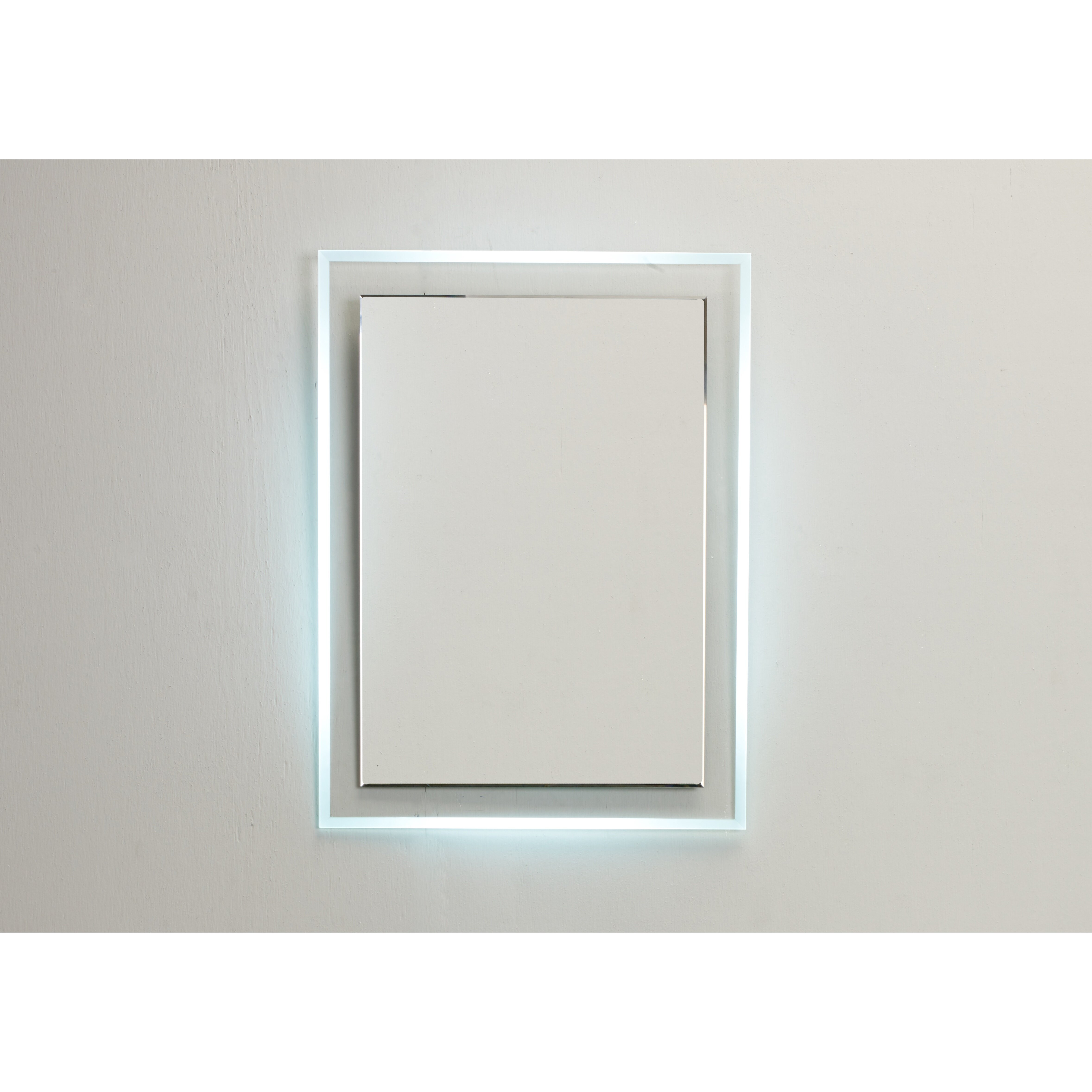 Eviva Stockholm Lighted Bathroom Vanity Wall Mirror Wayfair