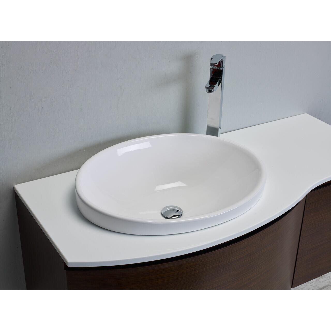 Eviva Curvy 48 Single Modern Bathroom Vanity Set Wayfair