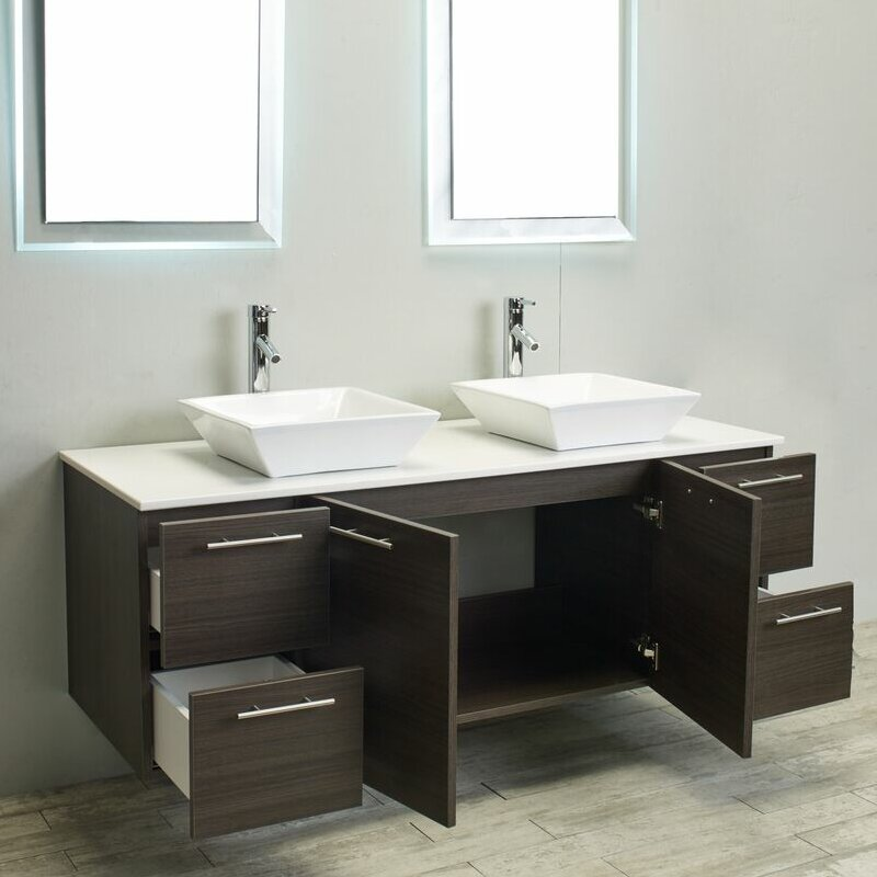 Eviva Luxury 60 Bathroom Vanity Wayfair
