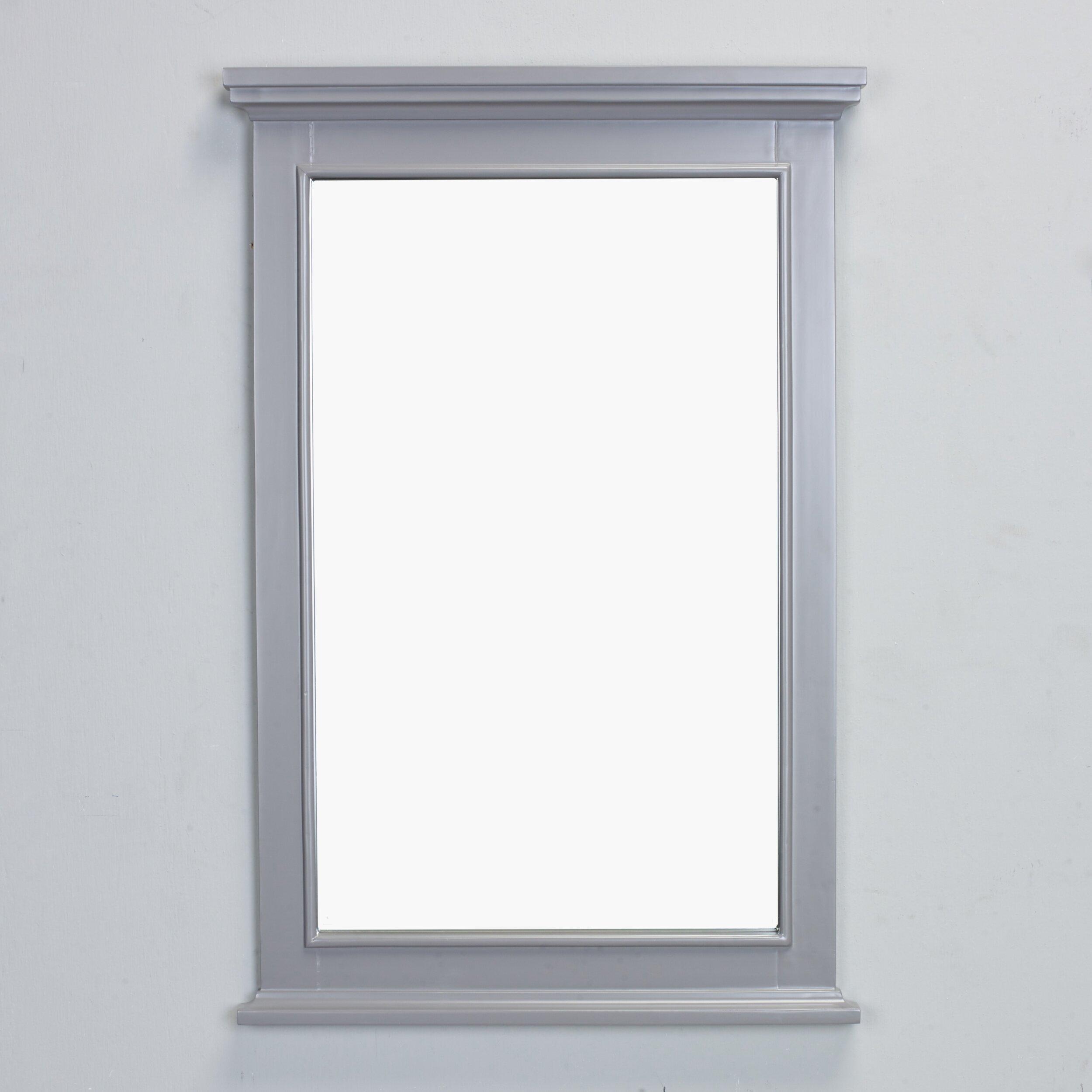 Eviva Elite Stamford Framed Bathroom Wall Mirror Wayfair