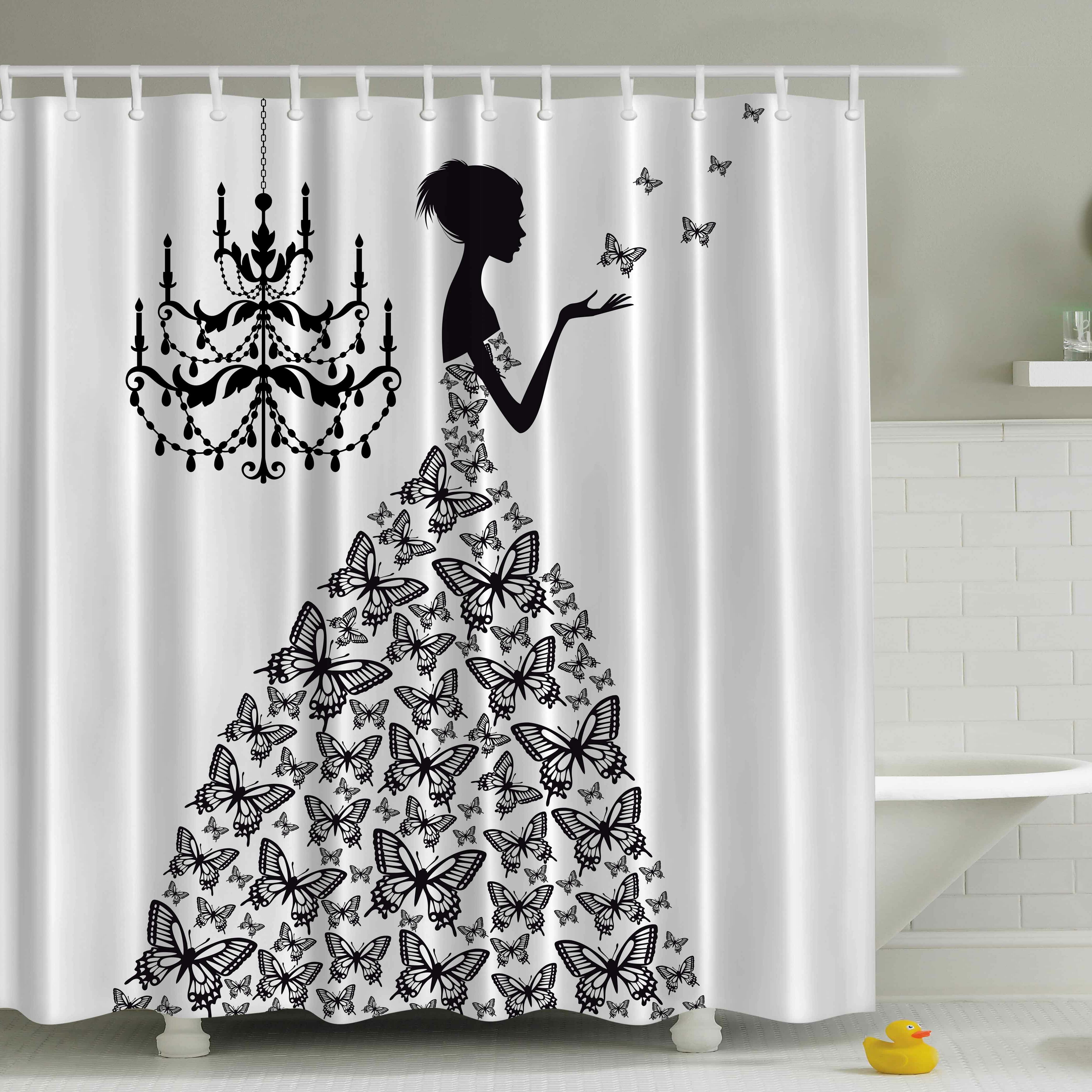Ambesonne Madame Butterfly Print Shower Curtain Amp Reviews