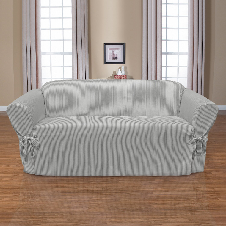 coverworks monroe sofa slipcover reviews wayfair. Black Bedroom Furniture Sets. Home Design Ideas