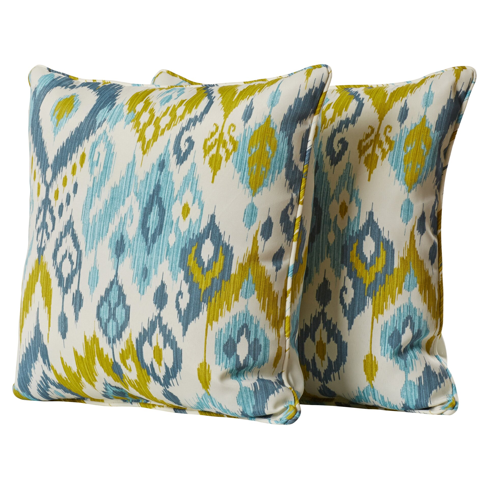 Throw Pillows In Abuja : Bungalow Rose Wijchen Corded Indoor Outdoor Throw Pillow & Reviews Wayfair.ca