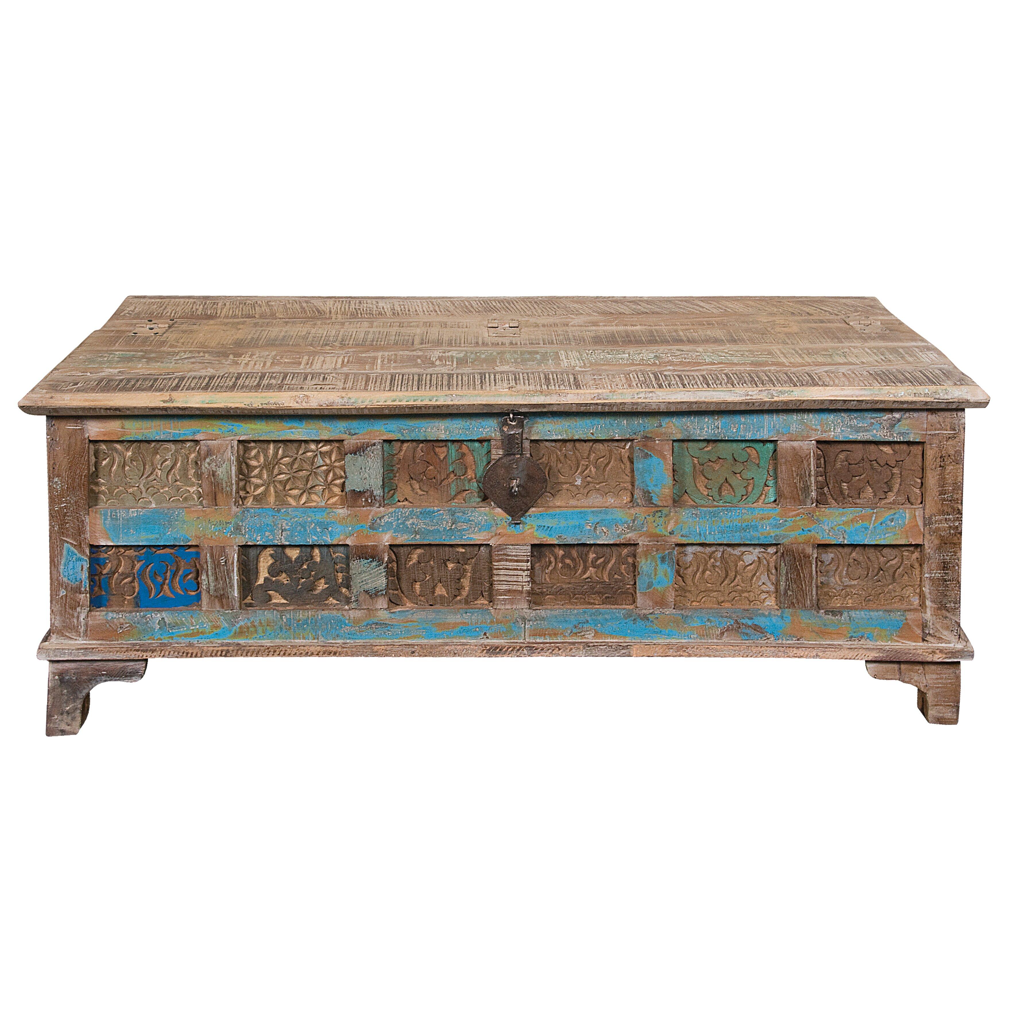 Bungalow rose seddiq storage coffee table reviews wayfair for Wayfair coffee tables with storage