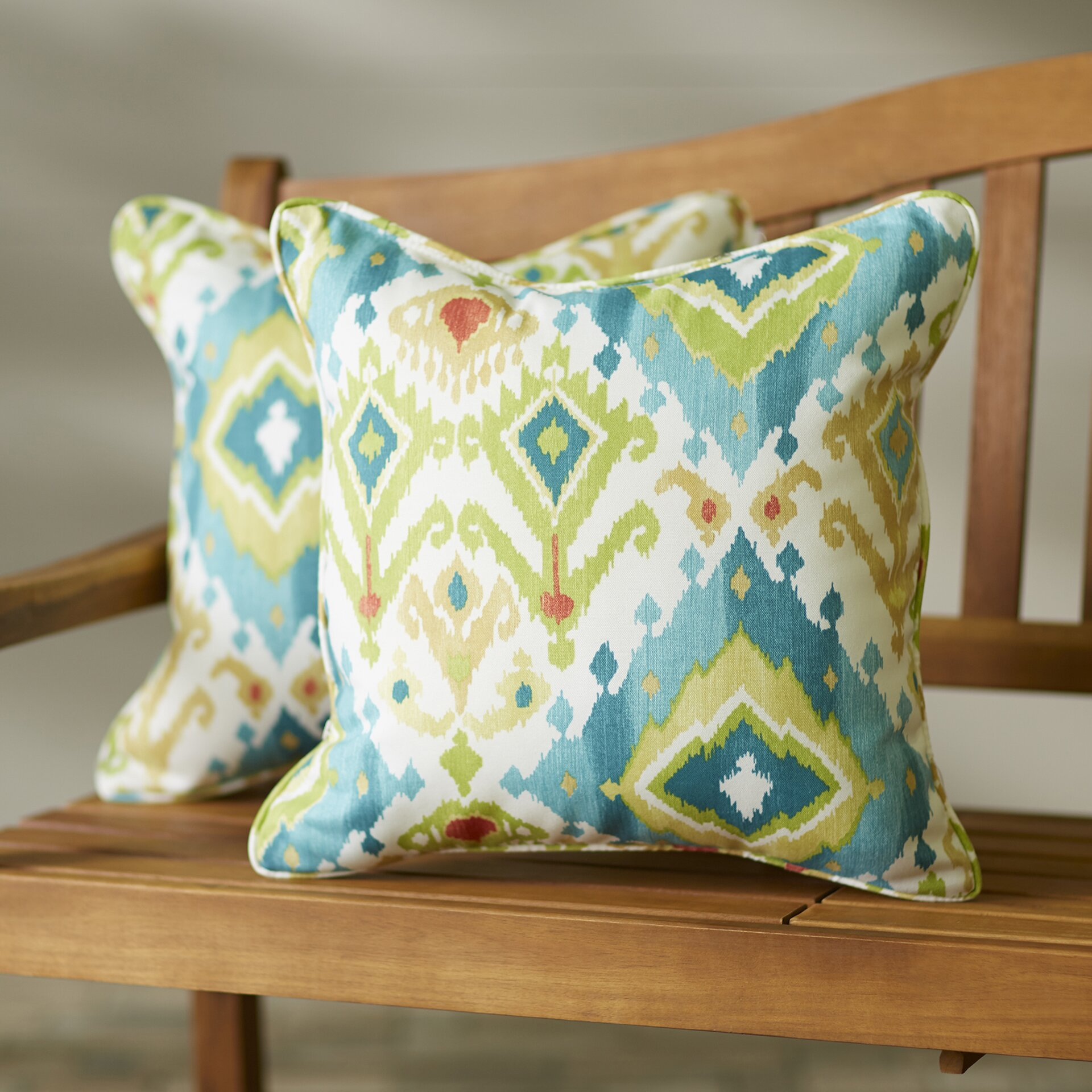Throw Pillows In Abuja : Bungalow Rose Oxford Indoor/Outdoor Throw Pillow & Reviews Wayfair.ca