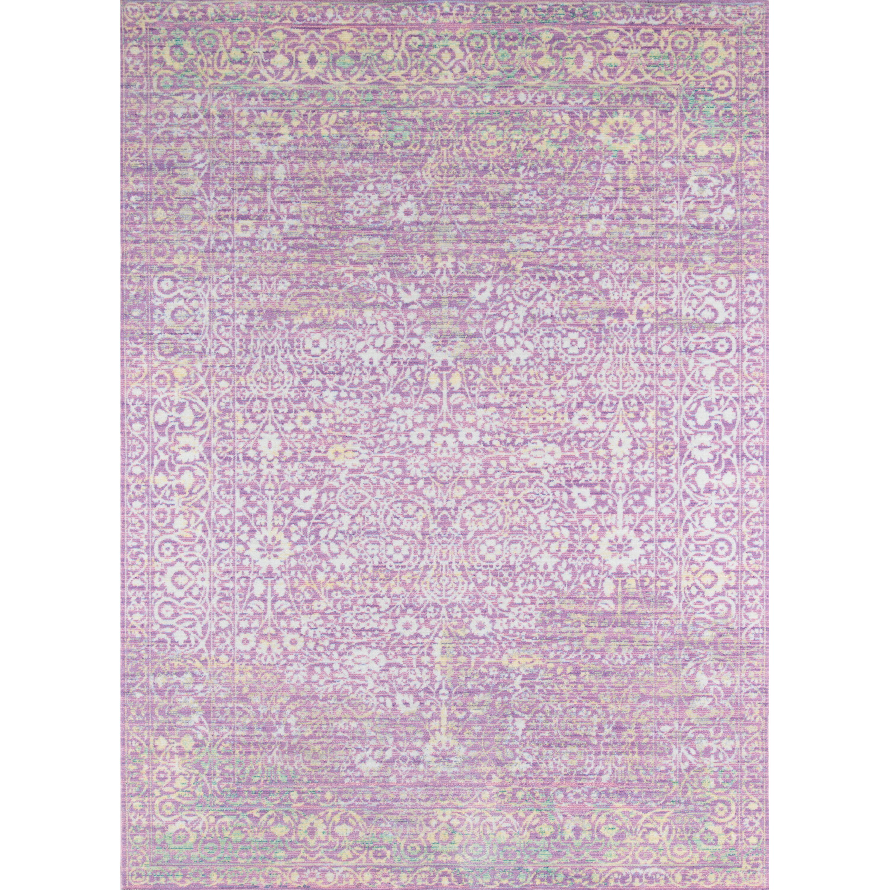 Bungalow Rose Alicia Lavender Area Rug Wayfair