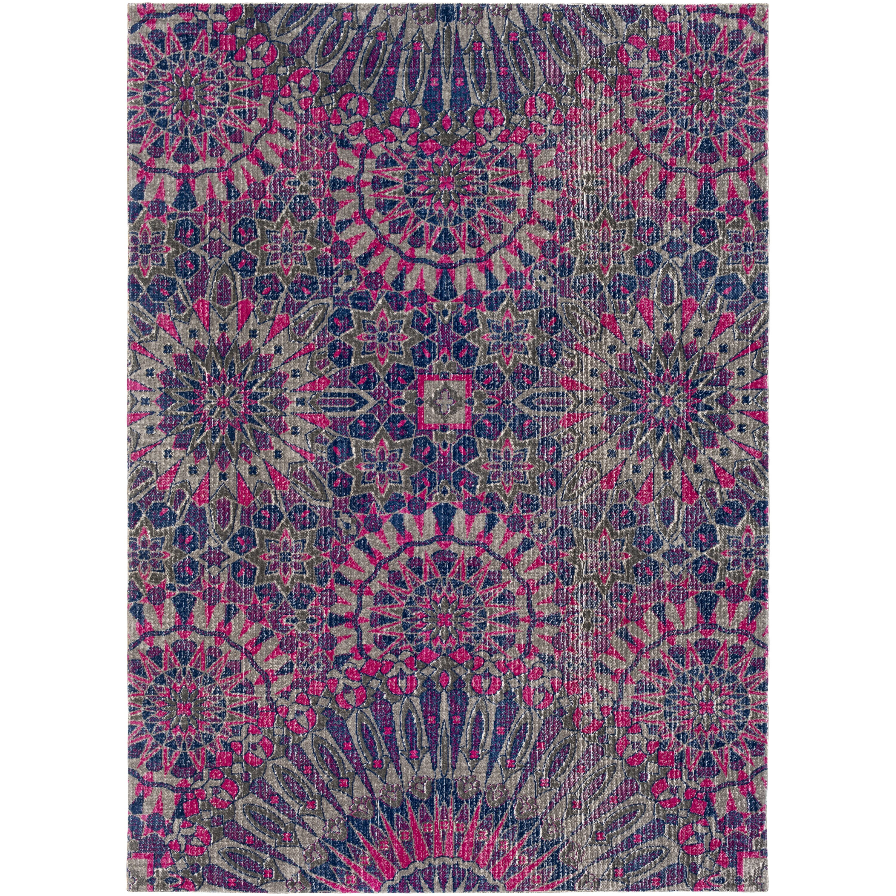 Xl Purple Rug: Bungalow Rose Randhir Purple/Pink Area Rug