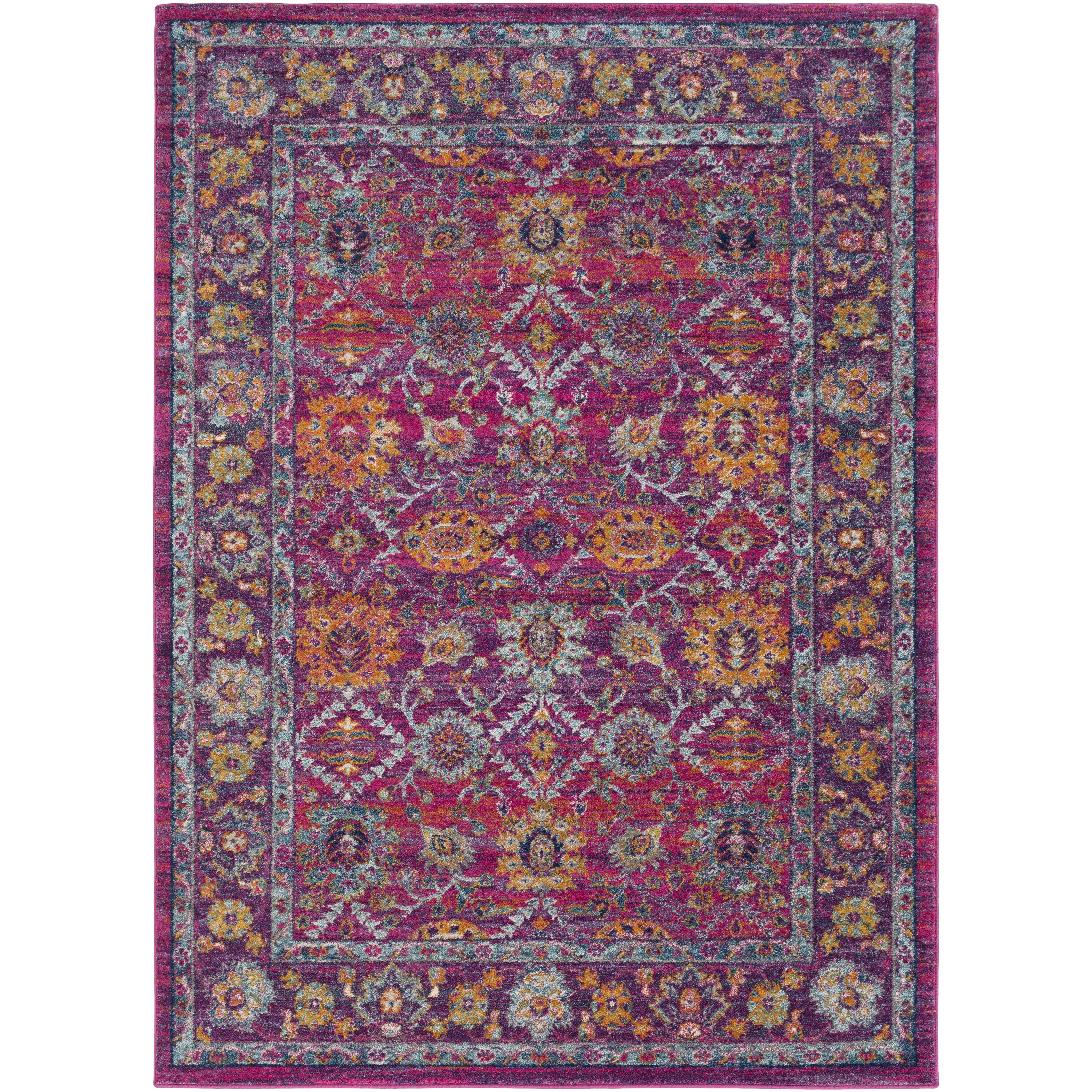 Xl Purple Rug: Bungalow Rose Andover Pink/Purple Area Rug & Reviews