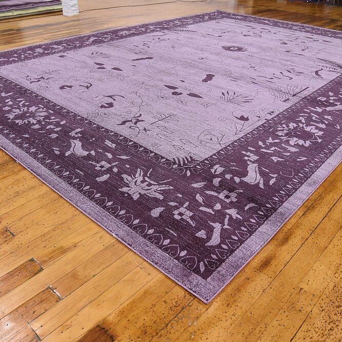Xl Purple Rug: Bungalow Rose Imperial Purple Area Rug & Reviews