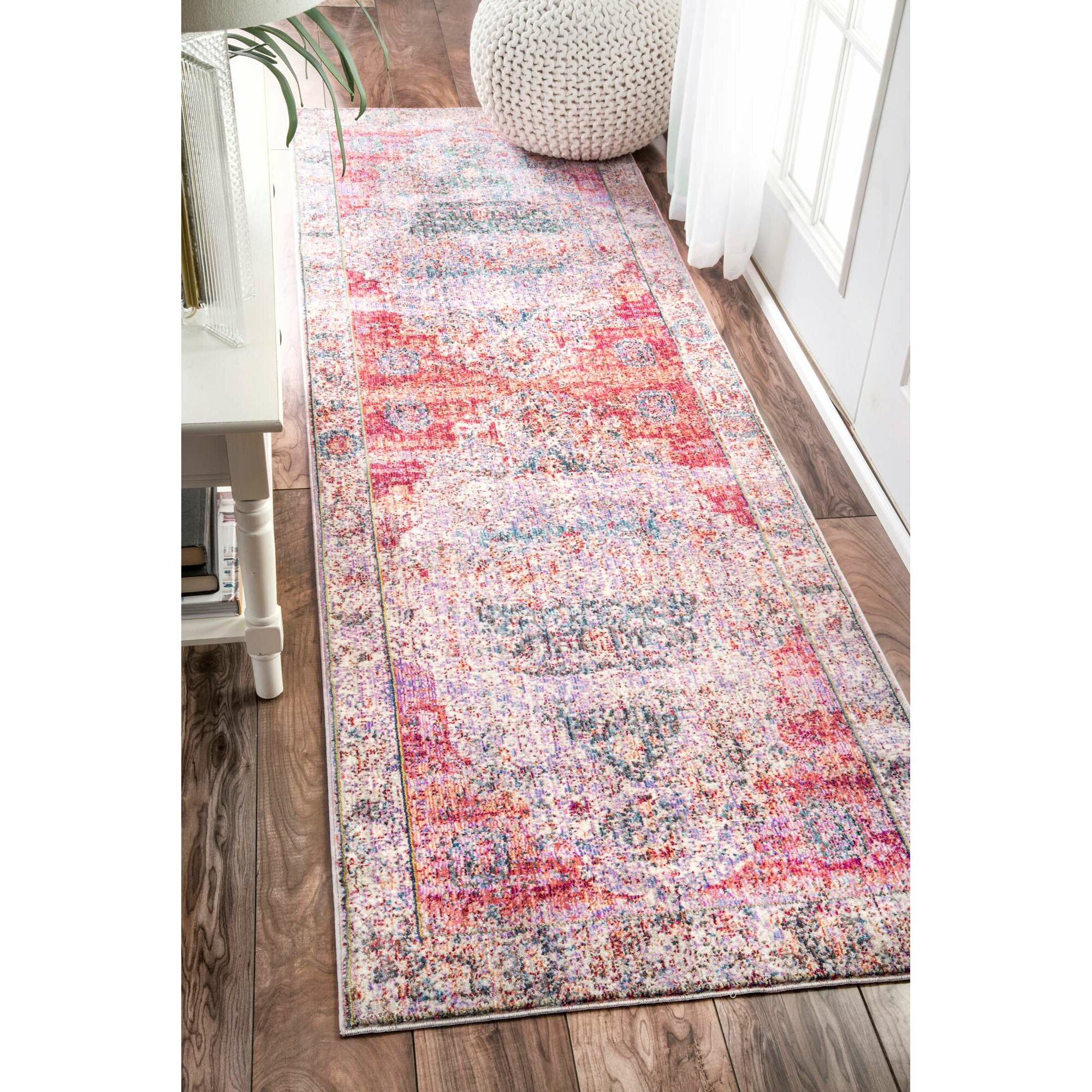 Bungalow Rose Hruby Blush Area Rug Amp Reviews Wayfair