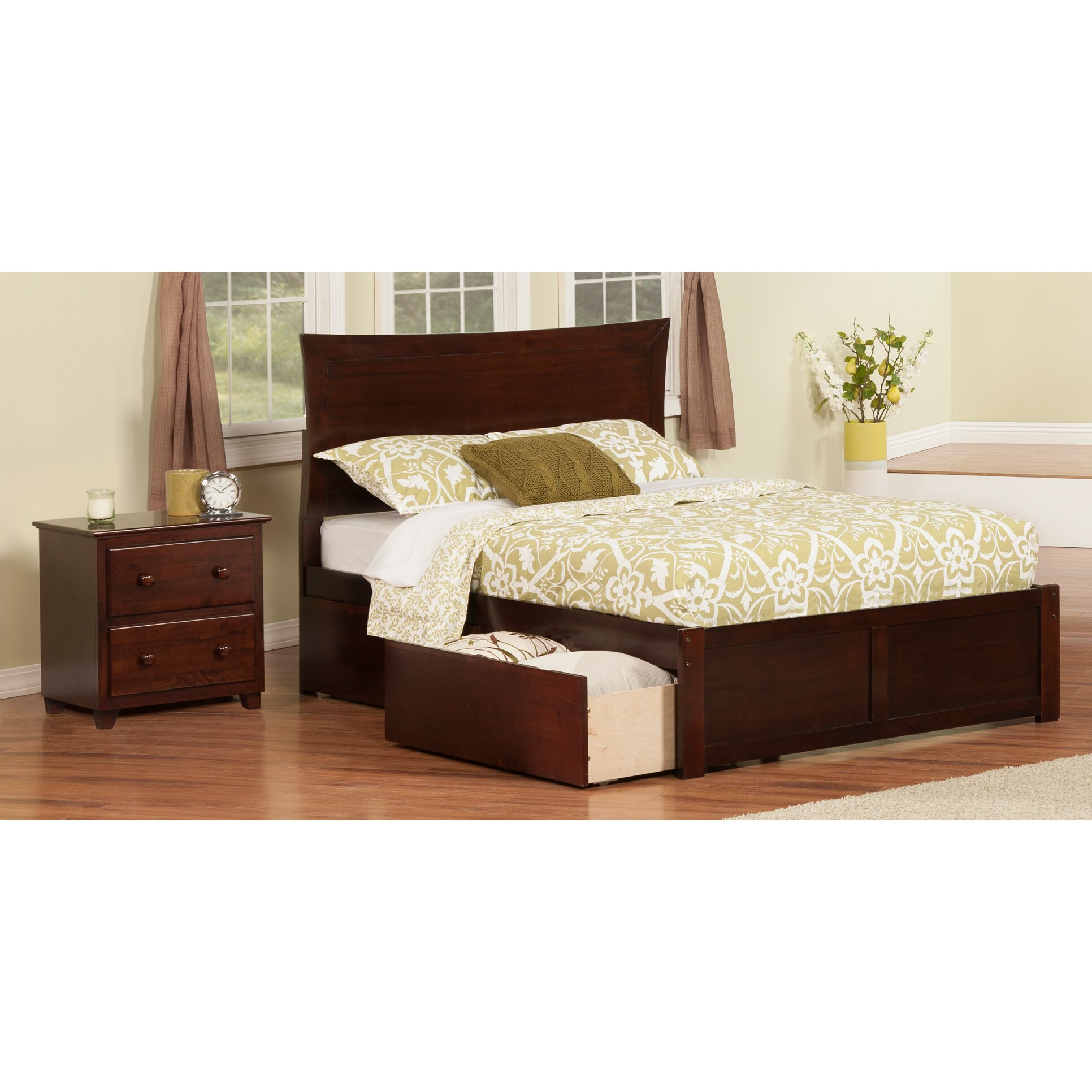 Viv Rae Egon Panel 2 Piece Bedroom Set Reviews Wayfair