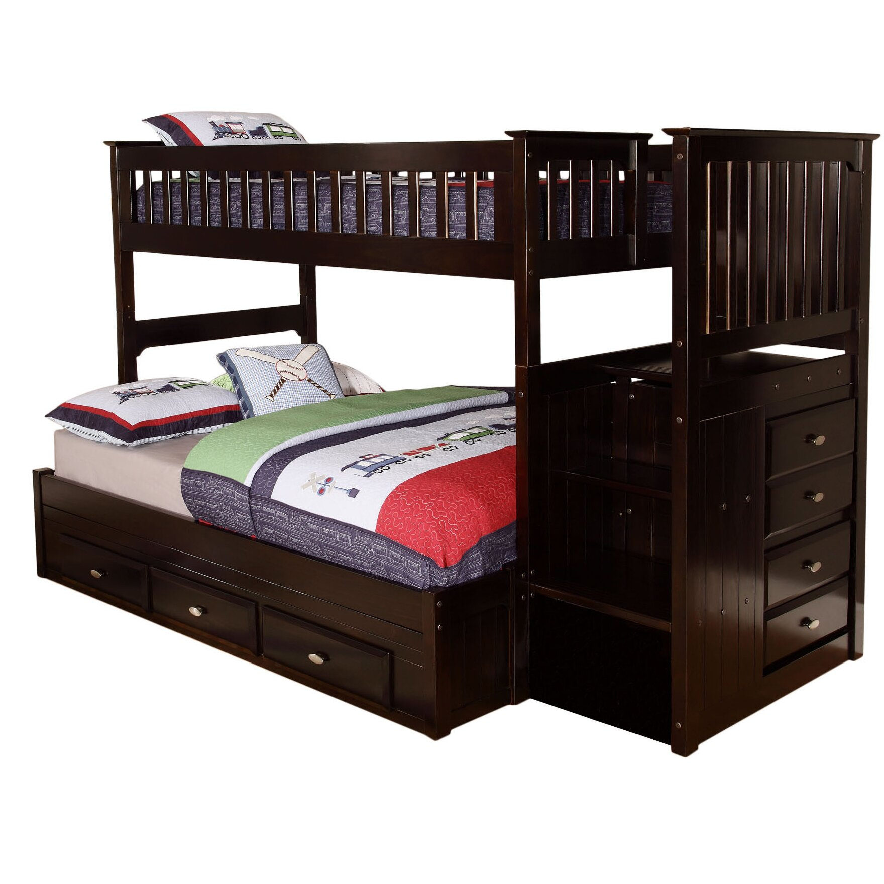 Viv Rae Kaitlyn Twin Over Full Bunk Bed Reviews Wayfair