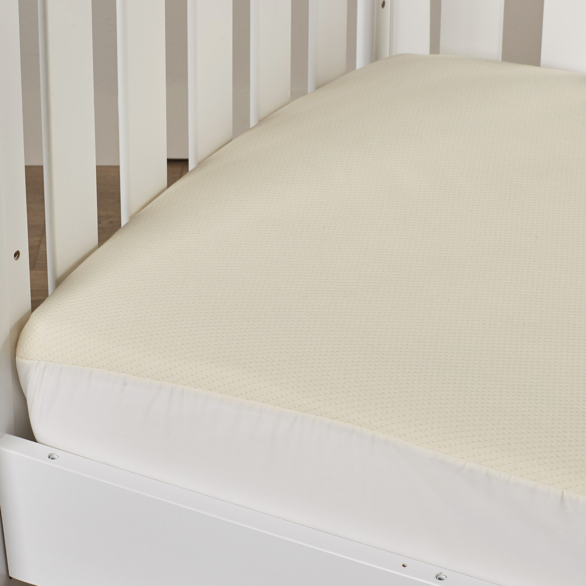 viv rae godstowe organic cotton crib fitted mattress