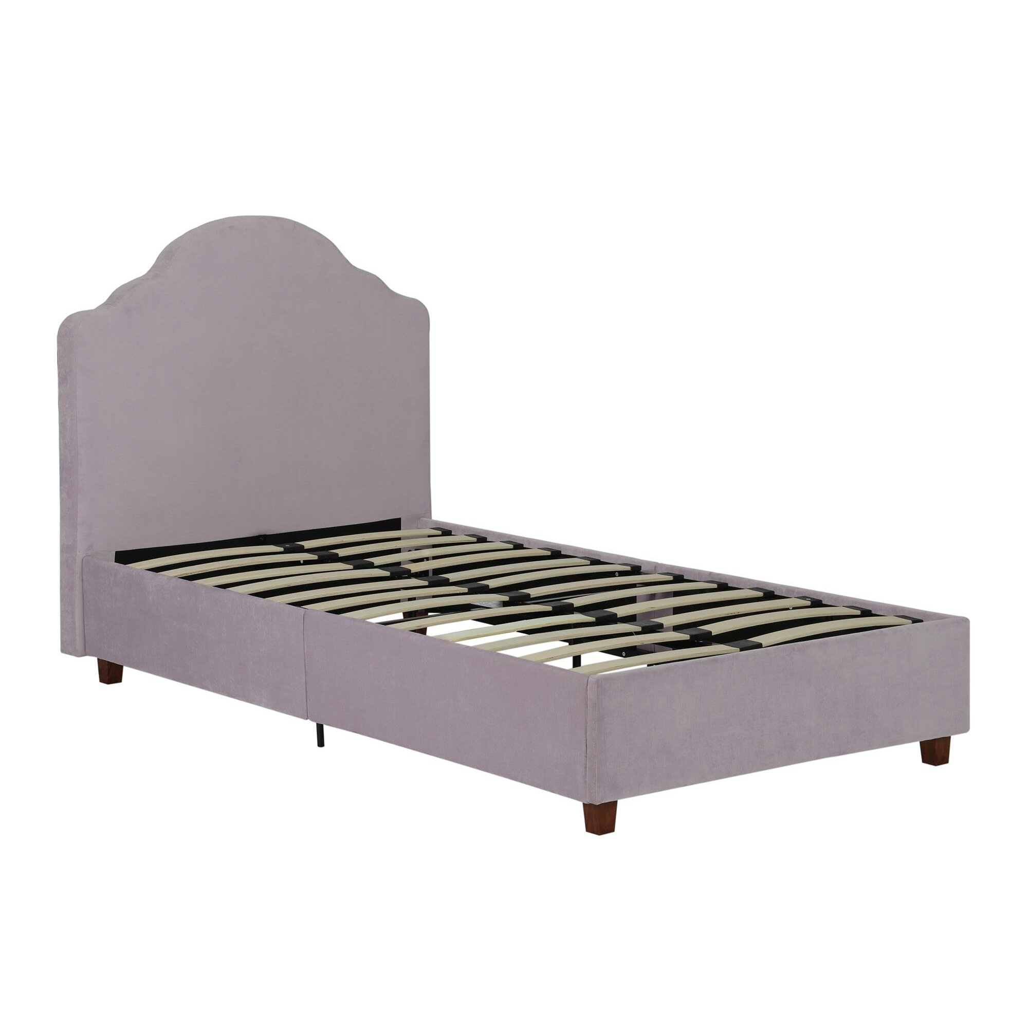 viv rae annie twin upholstered platform bed u0026 reviews wayfair - Wayfair Platform Bed