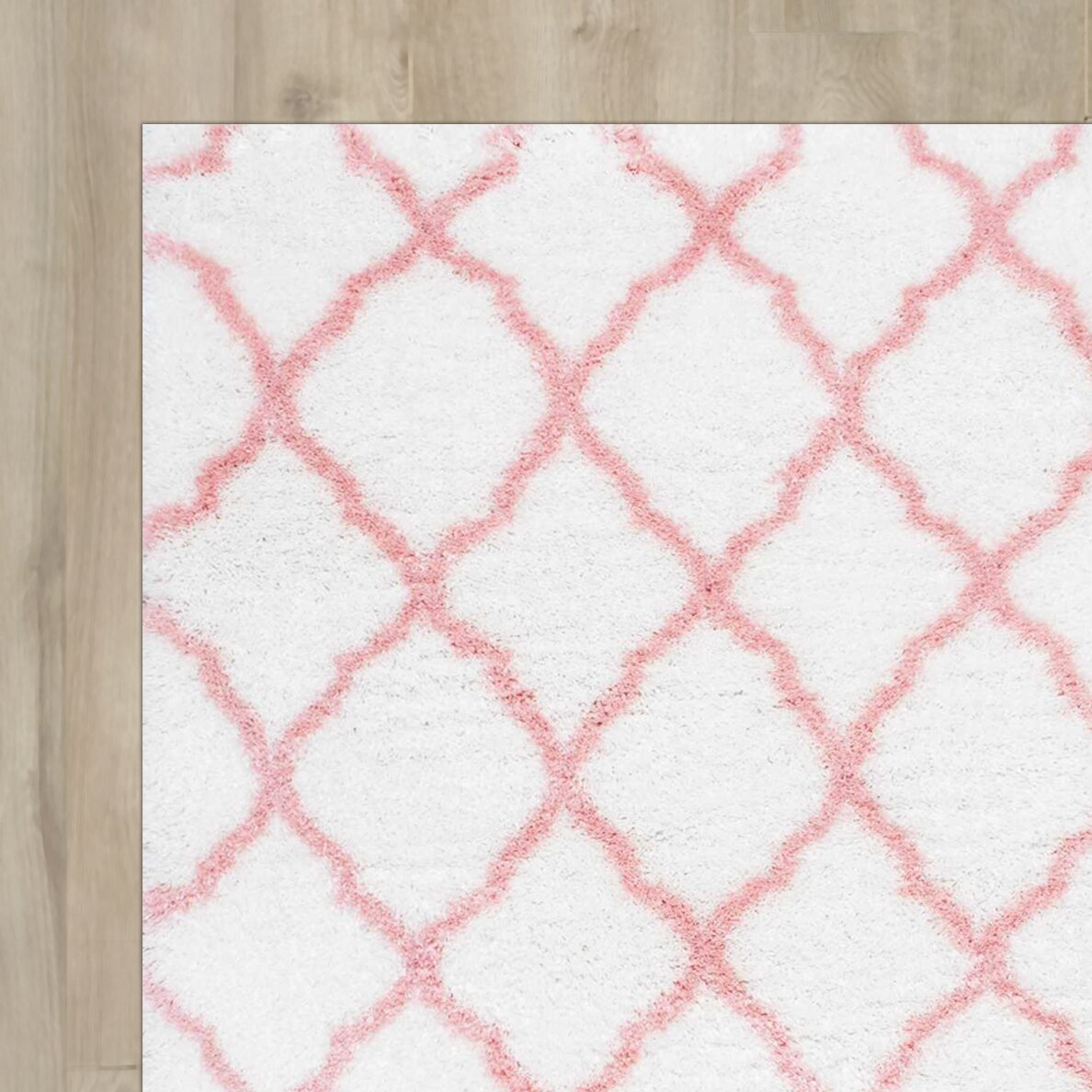 Viv Rae Leo Baby Pink Area Rug Reviews Wayfair