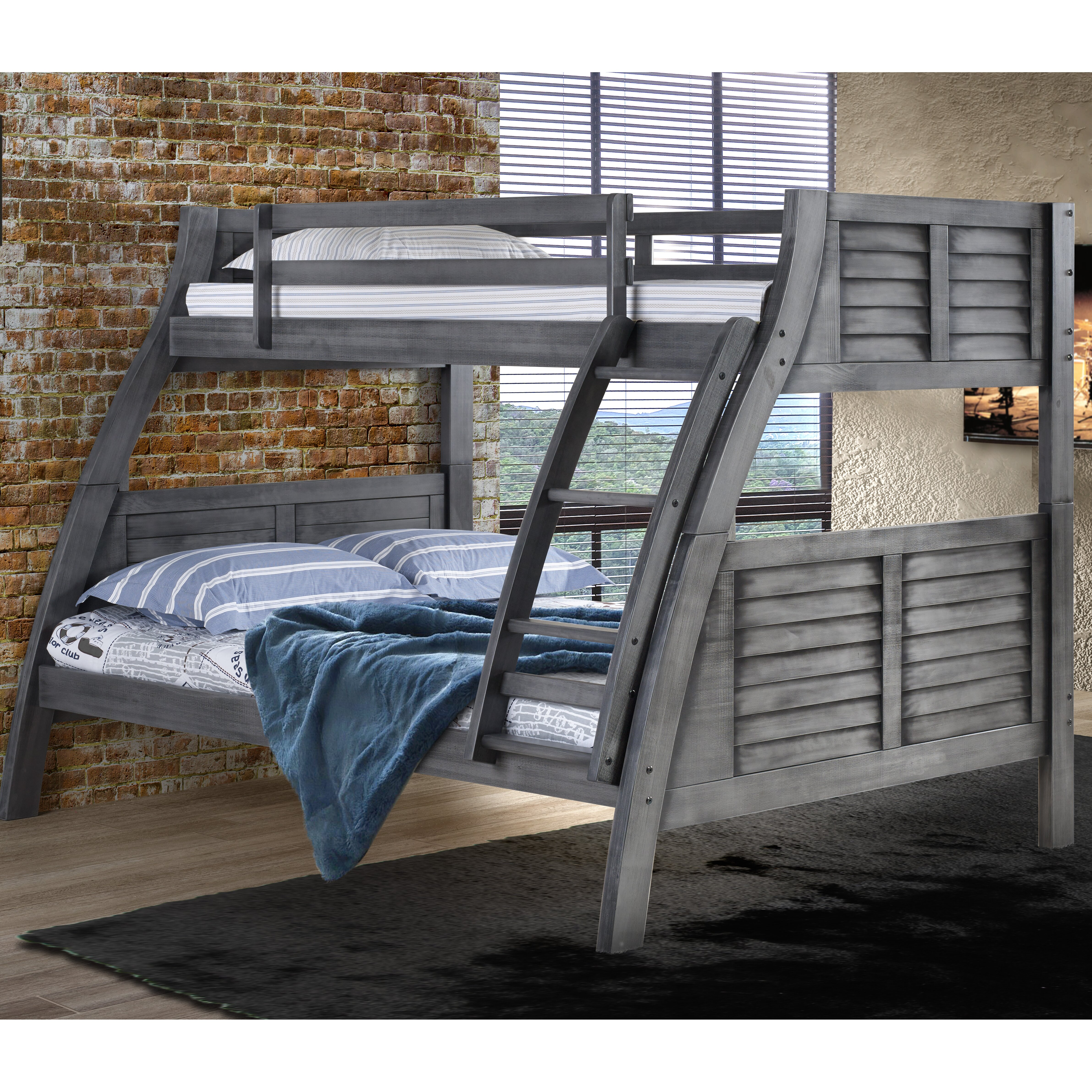 Viv Rae Lynn Twin Over Full Bunk Bed Wayfair
