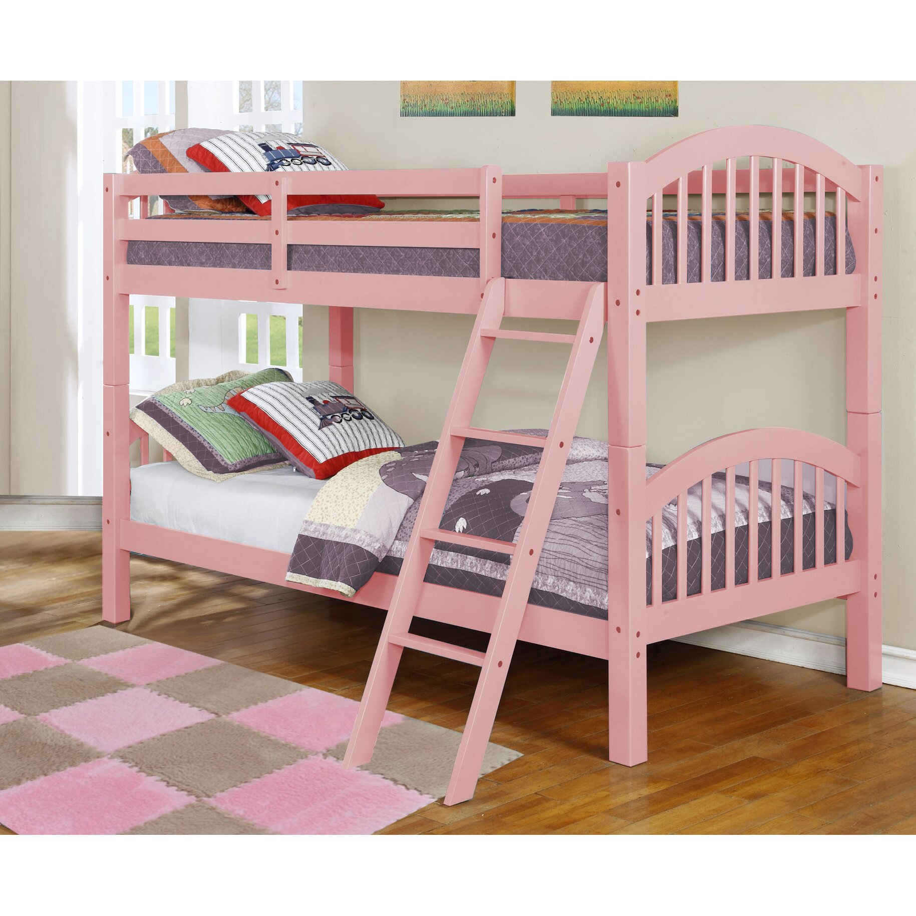 Loft Bed: Viv + Rae Hudson Twin Over Twin Bunk Bed & Reviews