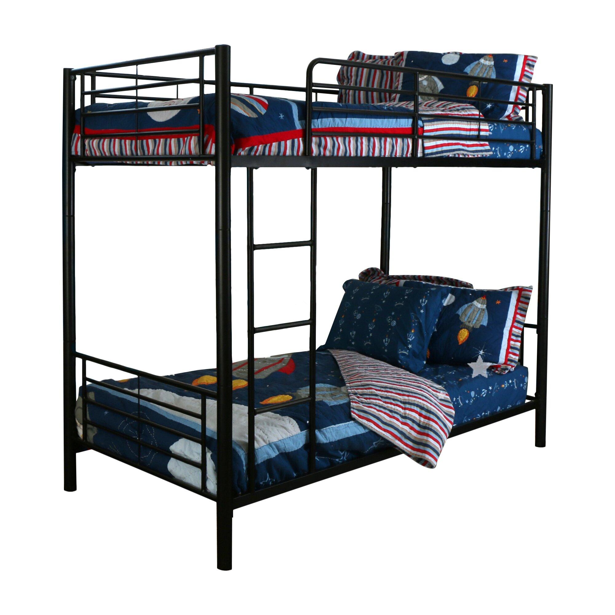 Viv Rae Malia Twin Bunk Bed Reviews Wayfair