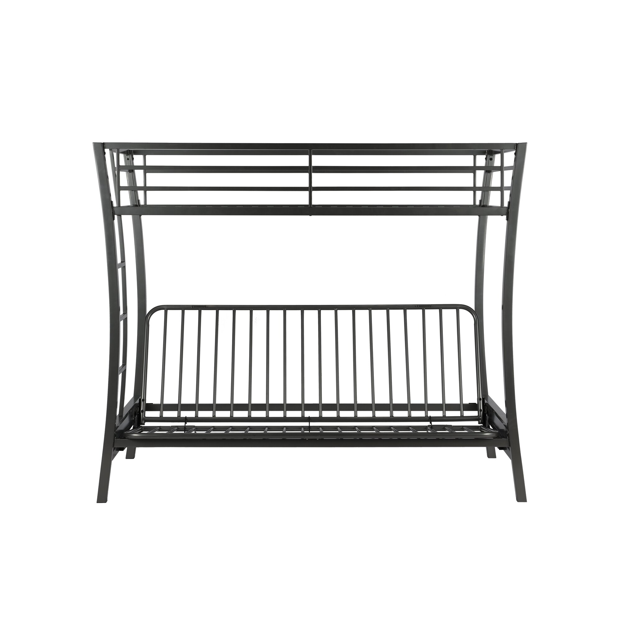 Viv Rae Dixie Twin Futon Bunk Bed Wayfair