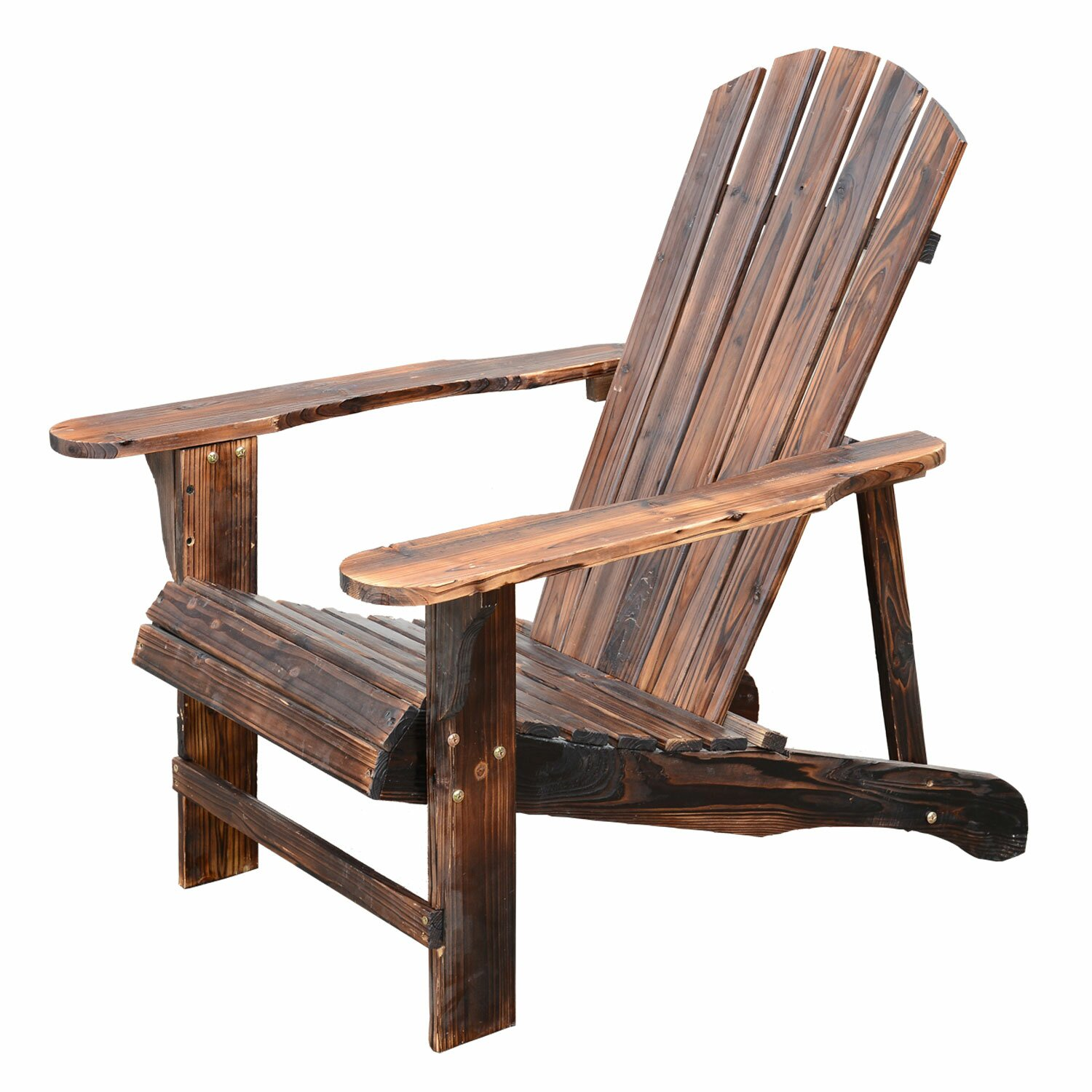 Outdoor Patio Furniture Wood Adirondack Chairs Outsunny SKU . Full resolution  picture, nominally Width 1500 Height 1500 pixels, picture with #A45727.