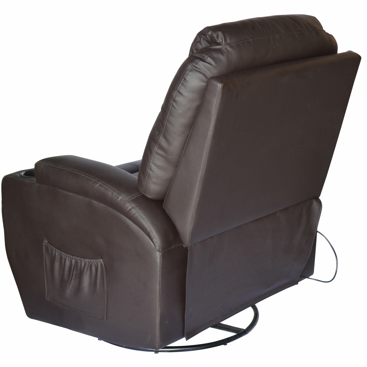 Furniture Living Room Furniture ... Brown Recliners Outsunny SKU ...