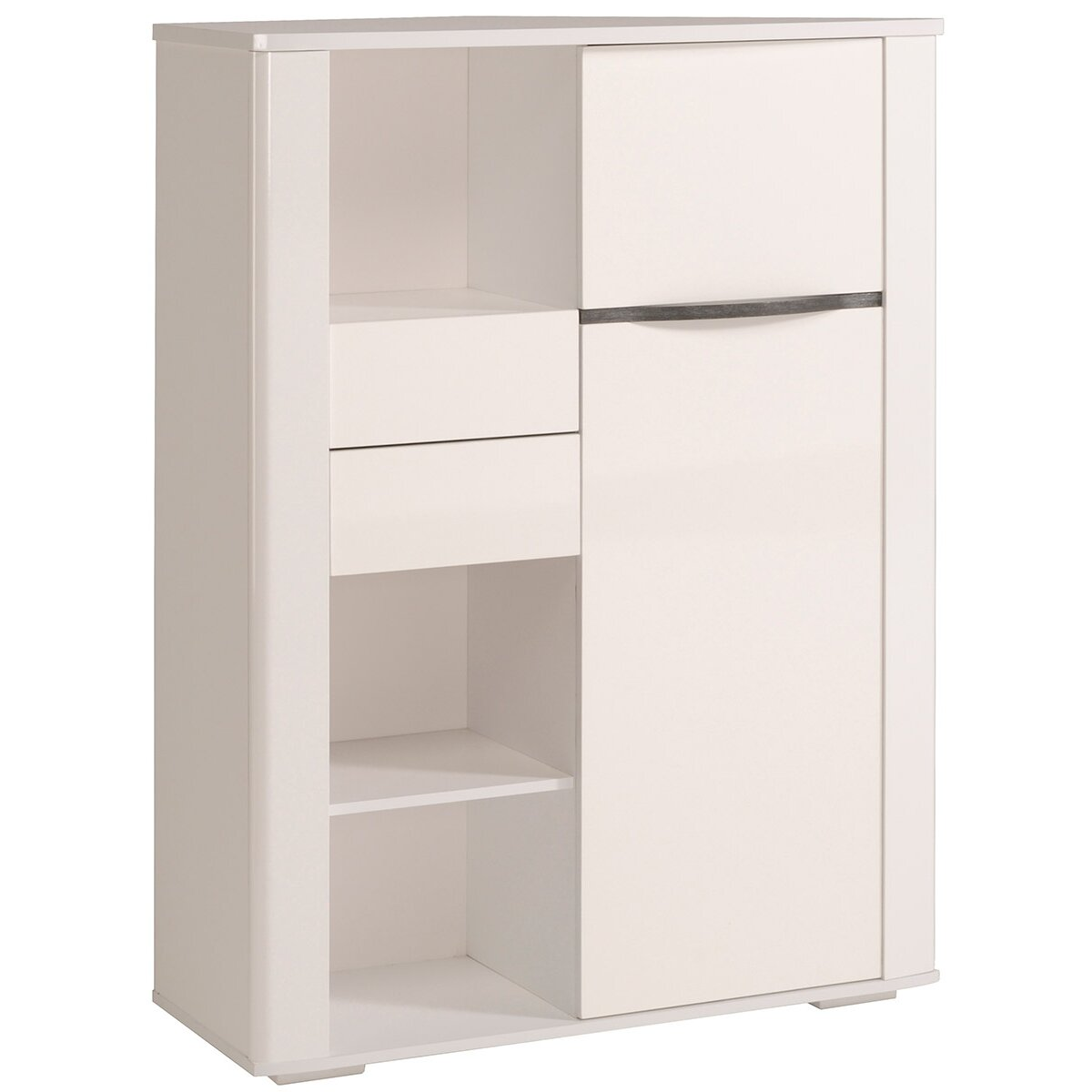 Parisot ceram 1 door storage cabinet reviews wayfair for 1 door storage cabinet