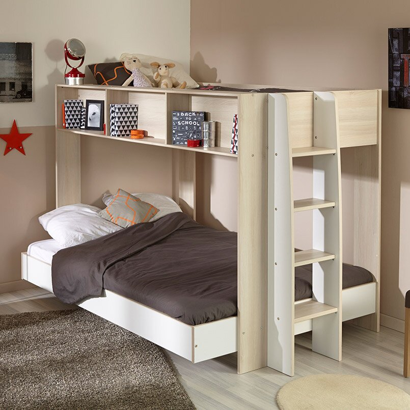 Parisot Team Twin Over Full Bunk Bed