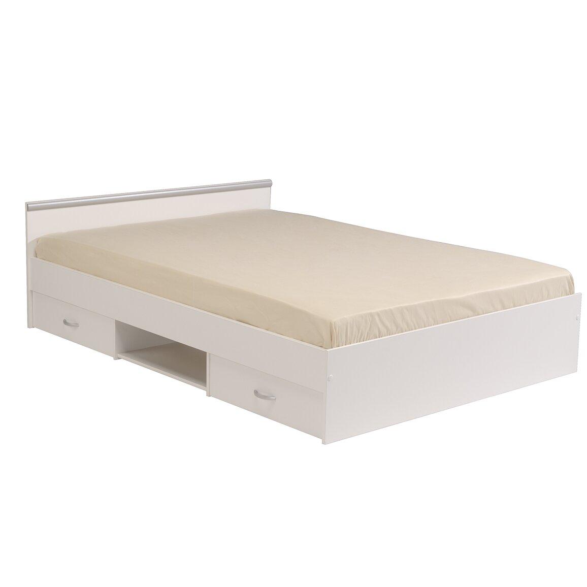 Parisot Alpha Full/Double Storage Platform Bed | Wayfair