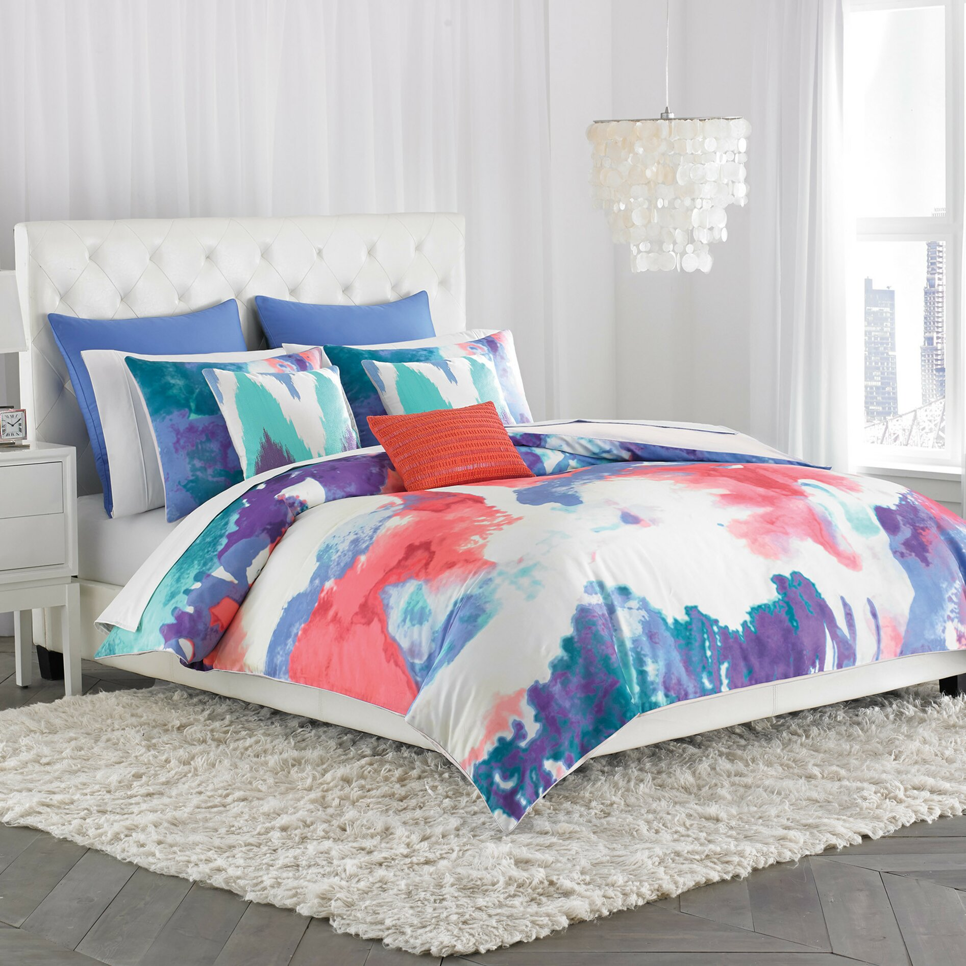Amy Sia Painterly Duvet Cover Amp Reviews Wayfair