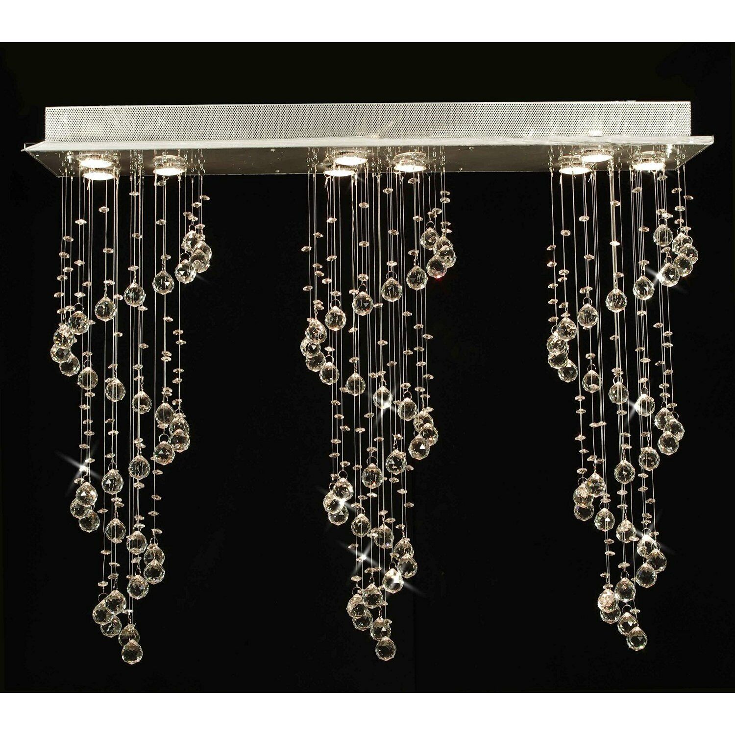 Wayfair Chandelier: EverythingHome 9 Light Crystal Chandelier