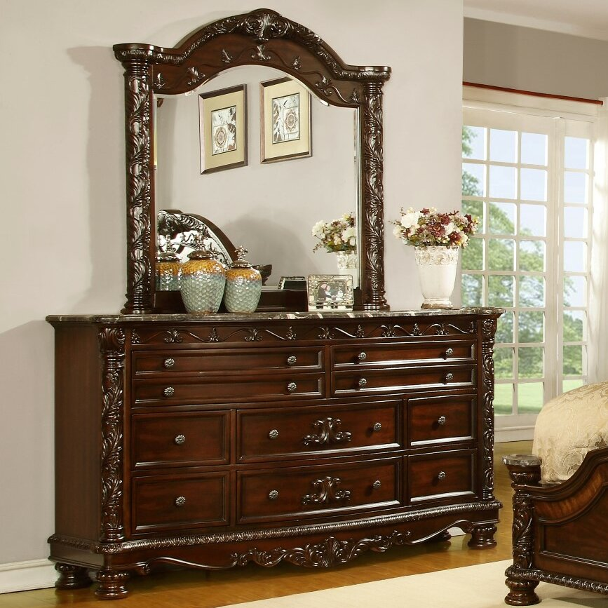 Fairfax Home Collections Patterson Sleigh Customizable Bedroom Set Reviews Wayfair