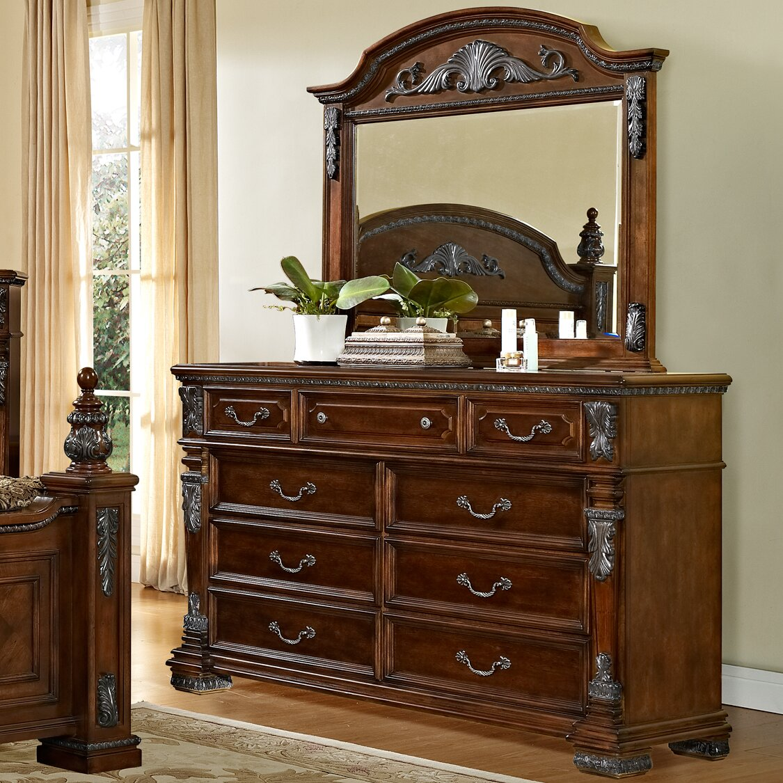 Fairfax Home Collections Orleans Customizable Bedroom Set Reviews
