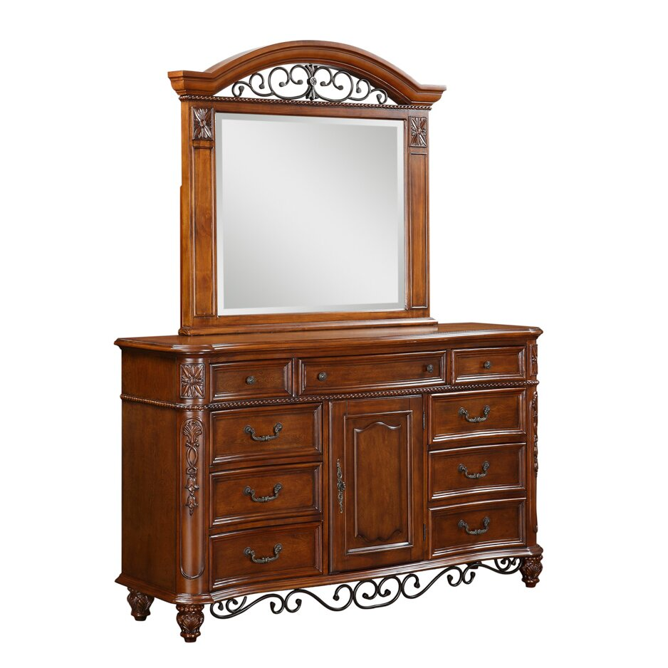 Tuscany Bedroom Furniture: Fairfax Home Collections Tuscany 9 Drawer Dresser With