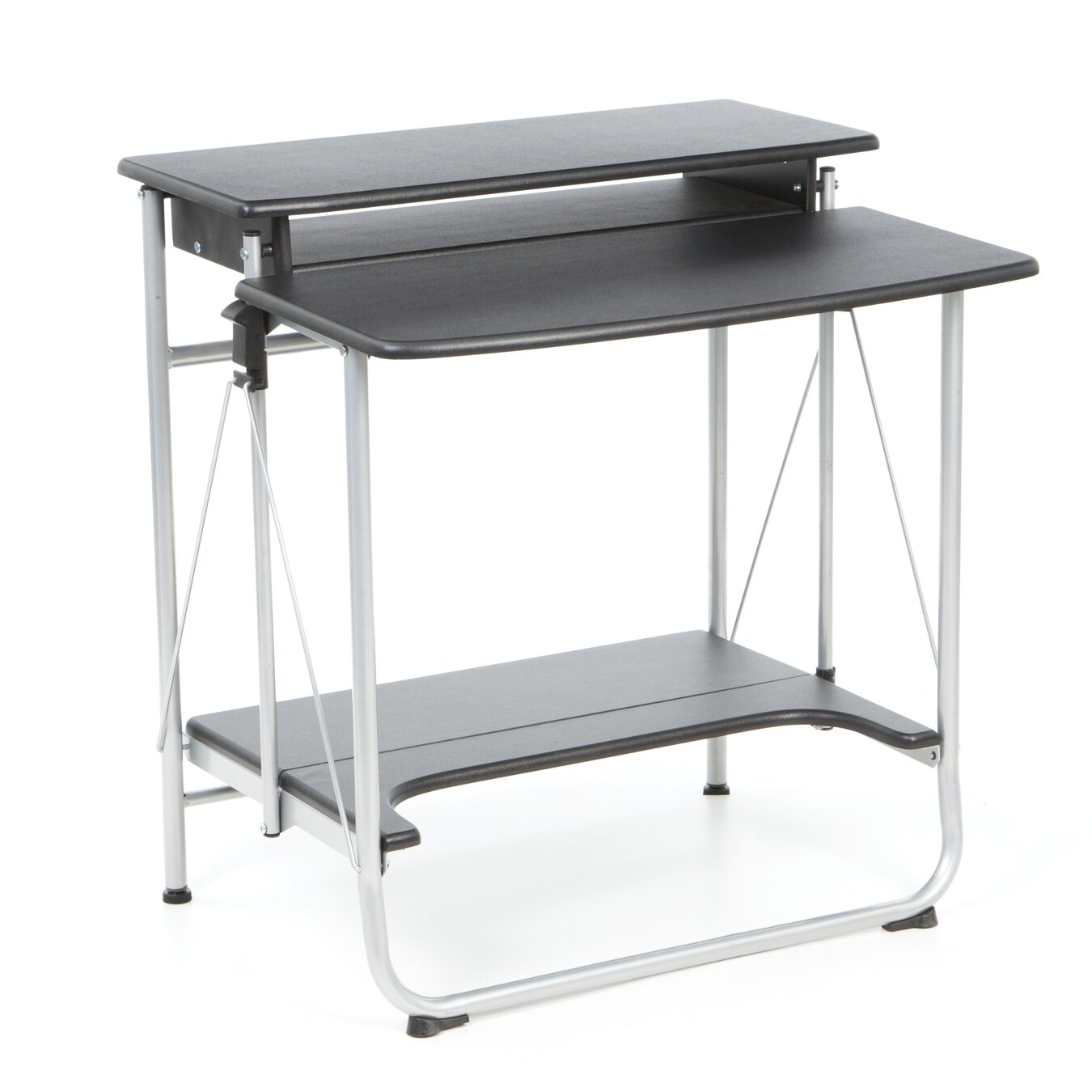 Comfort Products Freeley Folding Computer Desk & Reviews. Kitchen Island With Pull Out Table. Lift Chair Table. Desk Room Divider. Desk Set. Amazon White Desk. Standing Desk Pad. Cherry Nightstands With Drawers. Multiple Monitor Computer Desk
