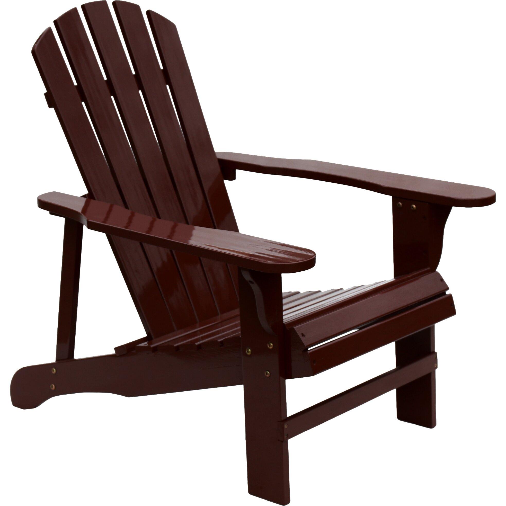 Hrh designs adirondack chair reviews wayfair for Adirondack chairs design