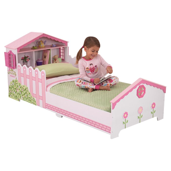 KidKraft Dollhouse Toddler Bed & Reviews | Wayfair