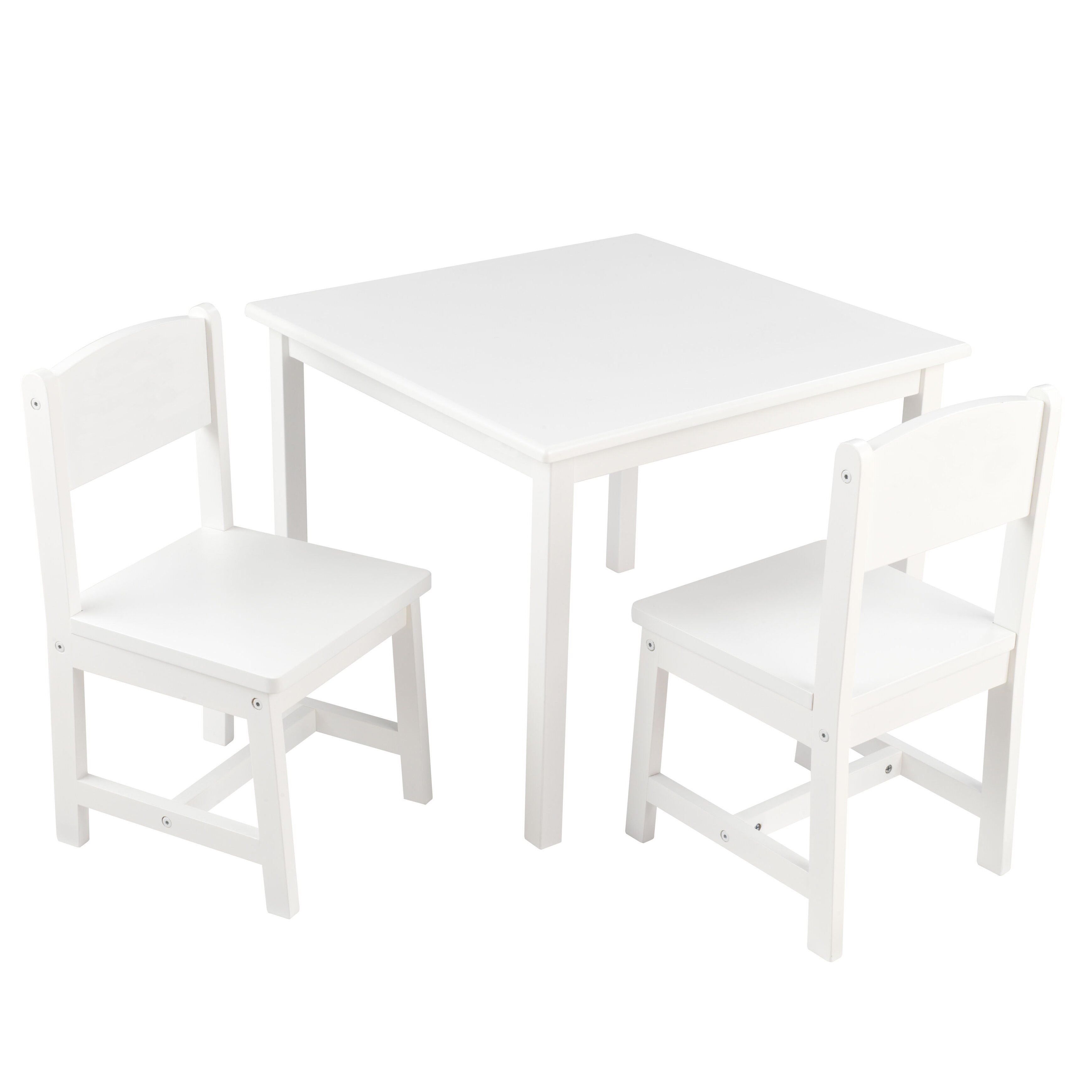 Kidkraft personalized aspen kids 39 3 piece table and chair for Table kidkraft