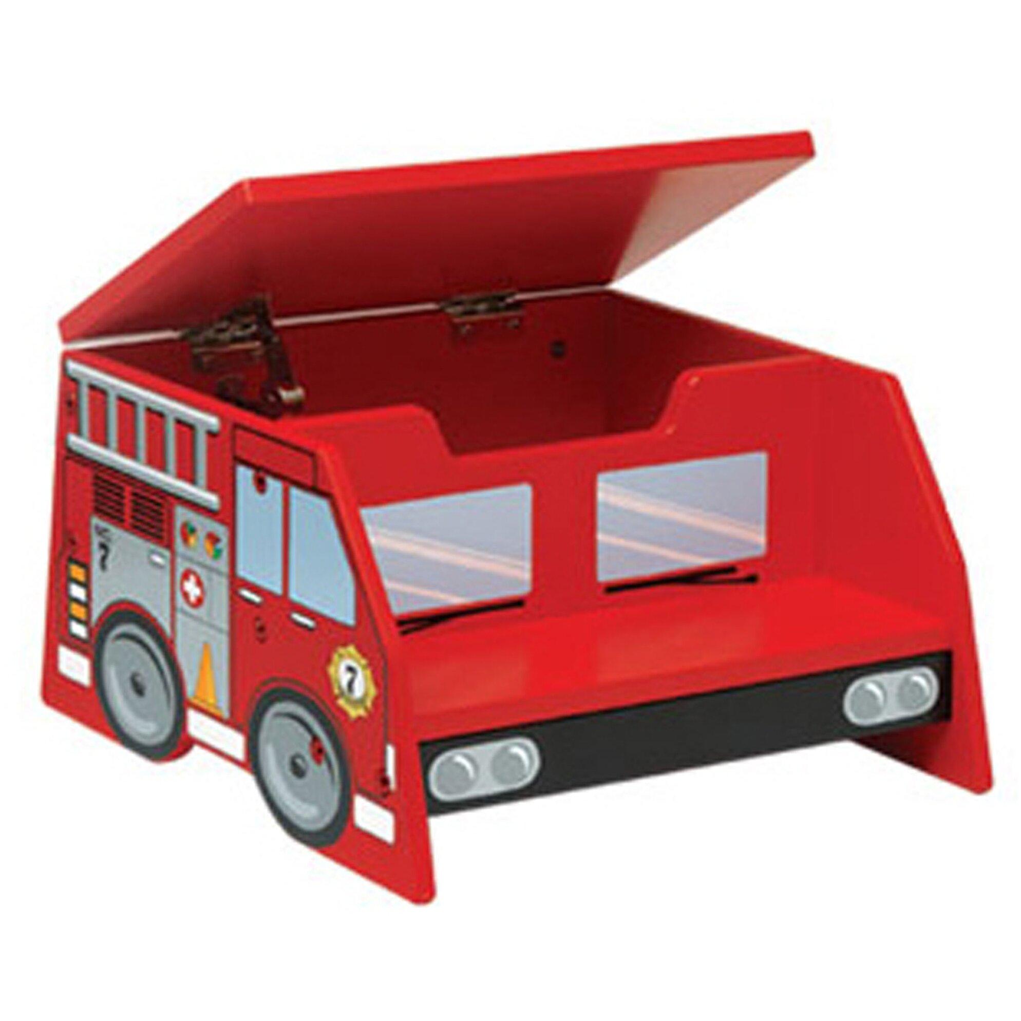 Kidkraft Firefighter 2 Step Manufactured Wood Fire Truck