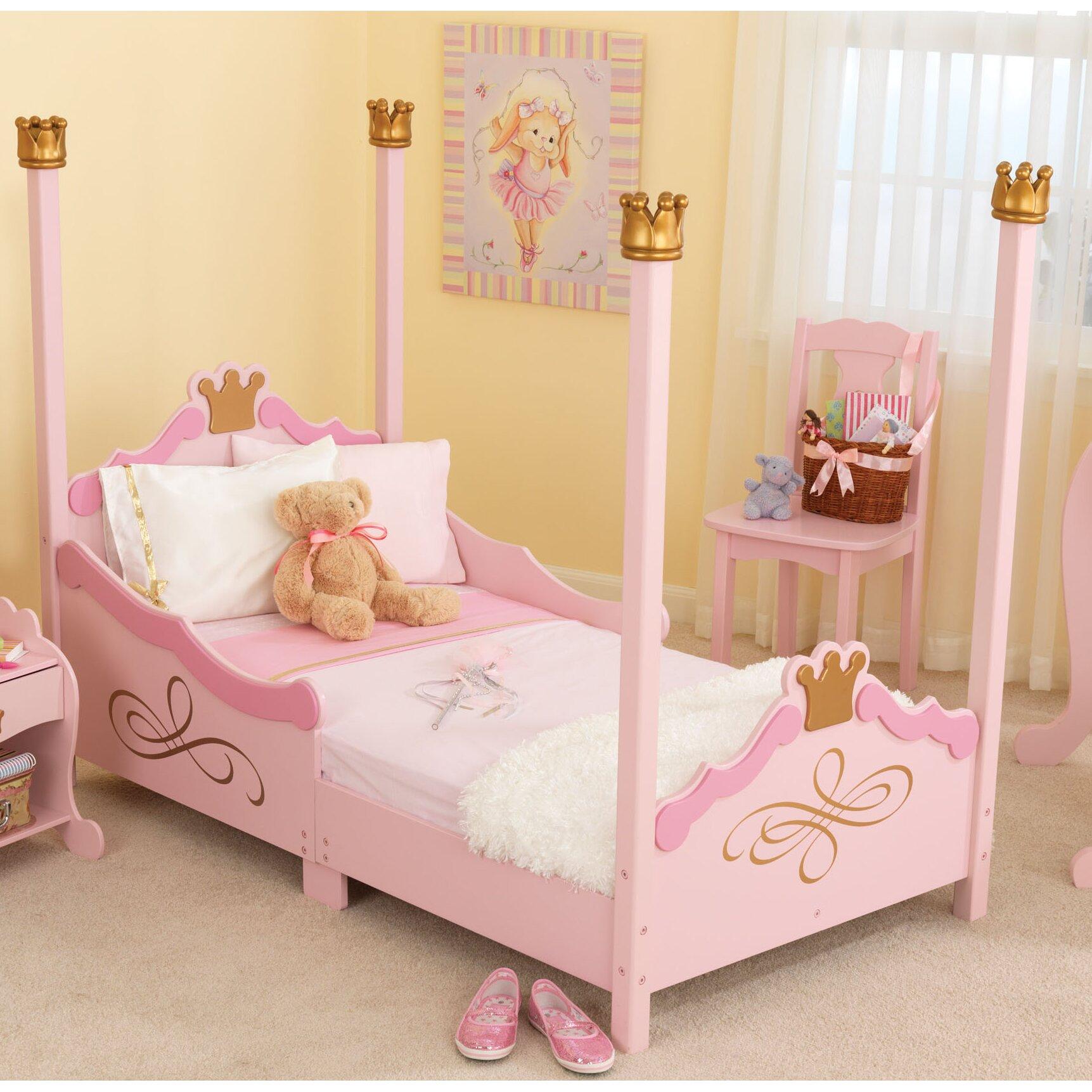 KidKraft Princess Toddler Four Poster Bed Amp Reviews