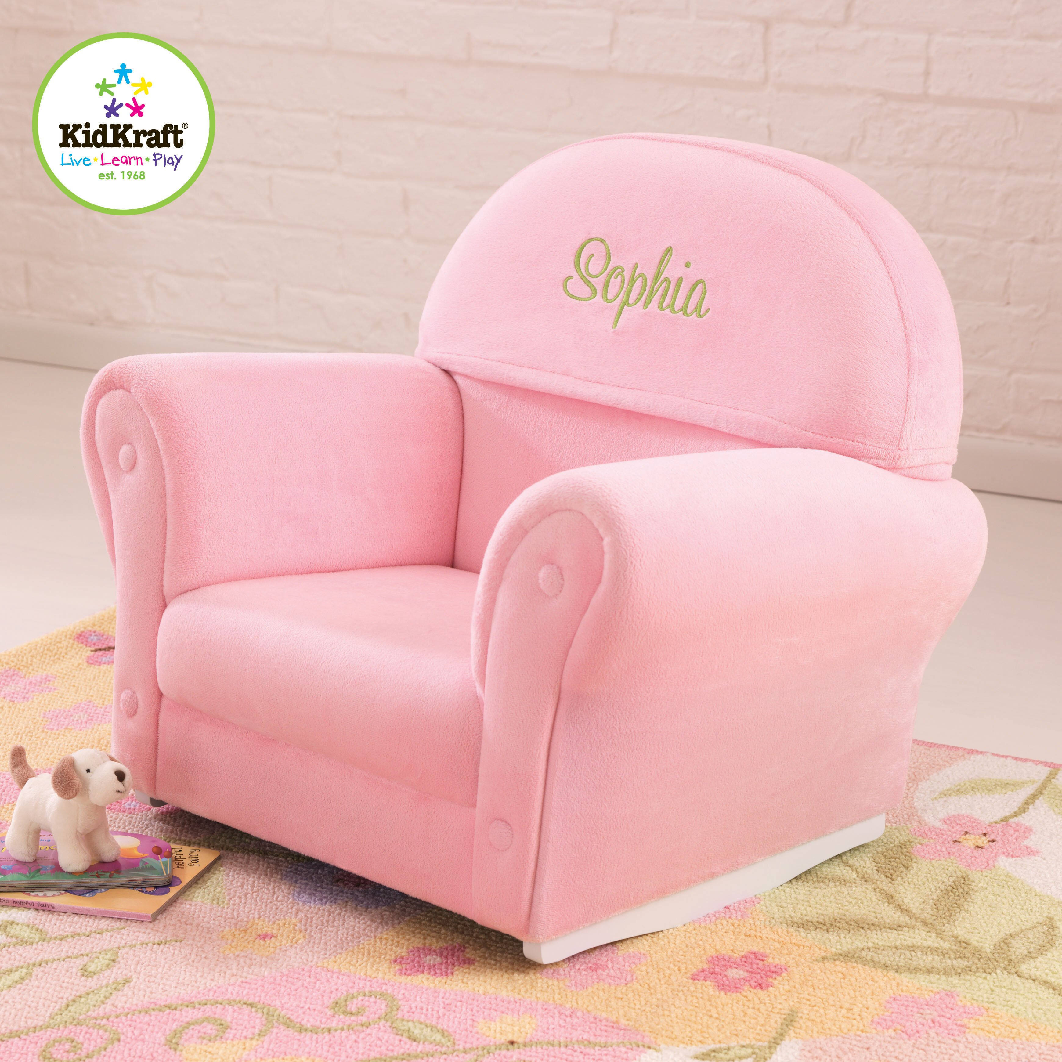 Personalized Kids Rocking Chairs Concept Home & Interior Design