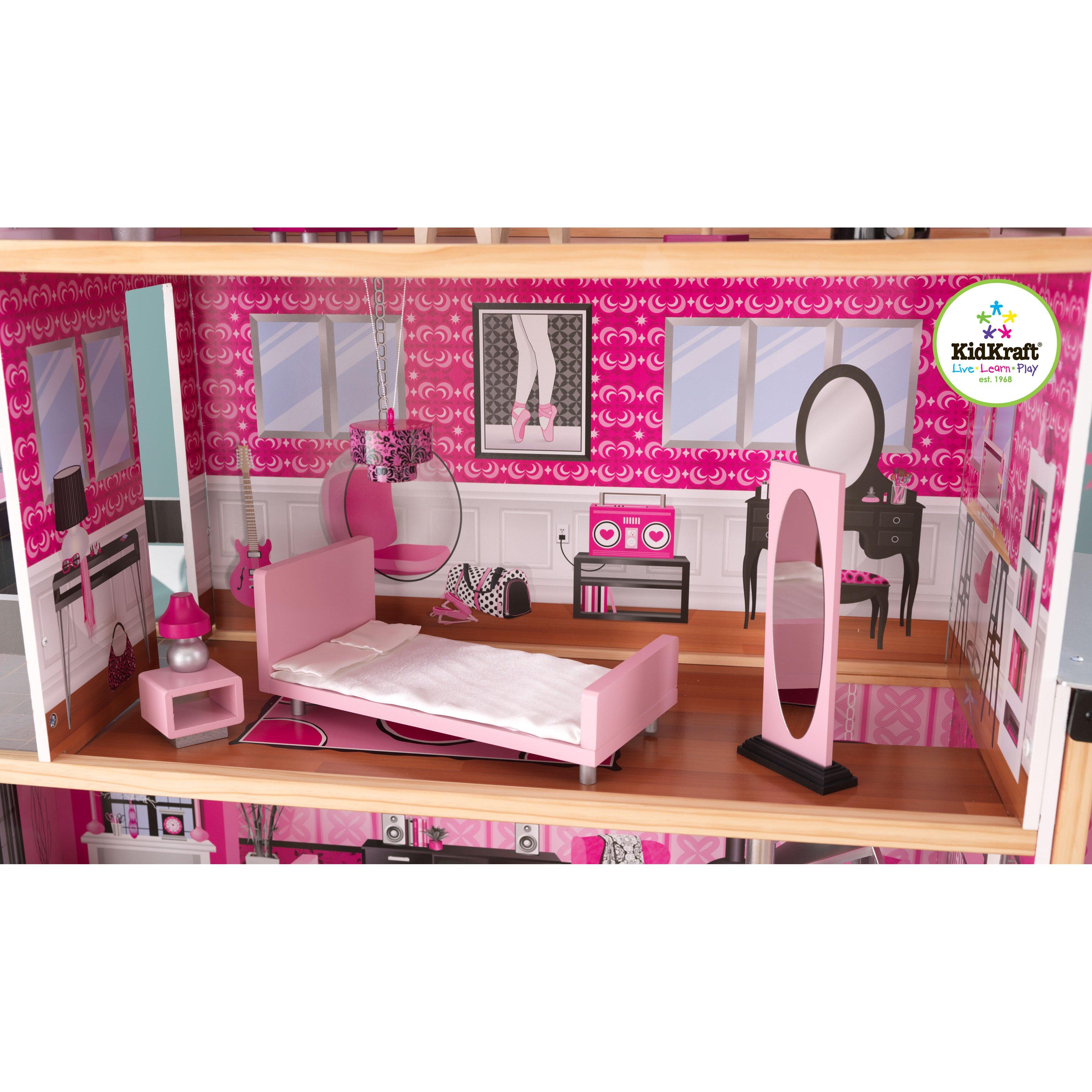 KidKraft Sparkle Mansion Dollhouse & eviews Wayfair - ^