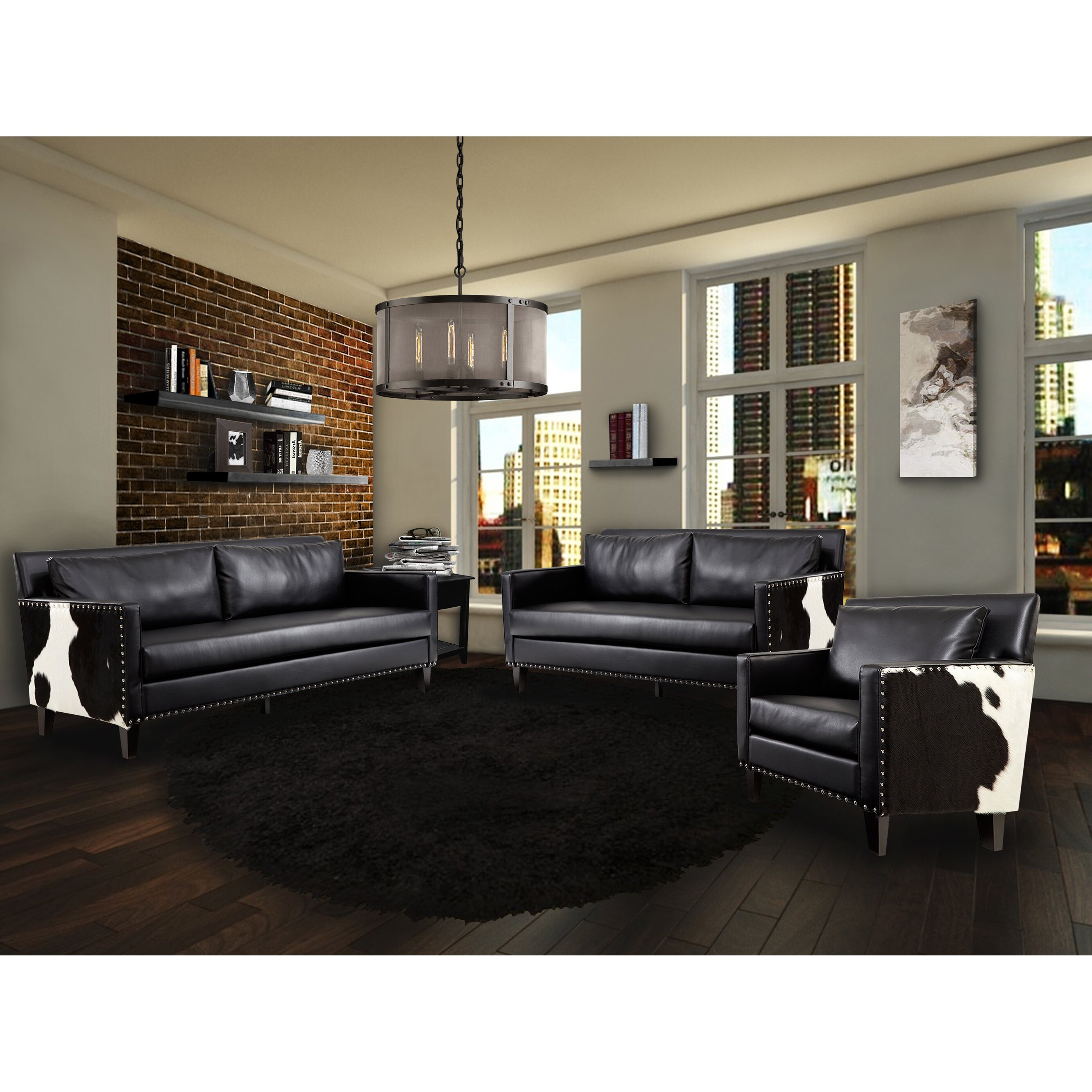 Dallas Living Room Furniture Dallas Steel Living Room Set