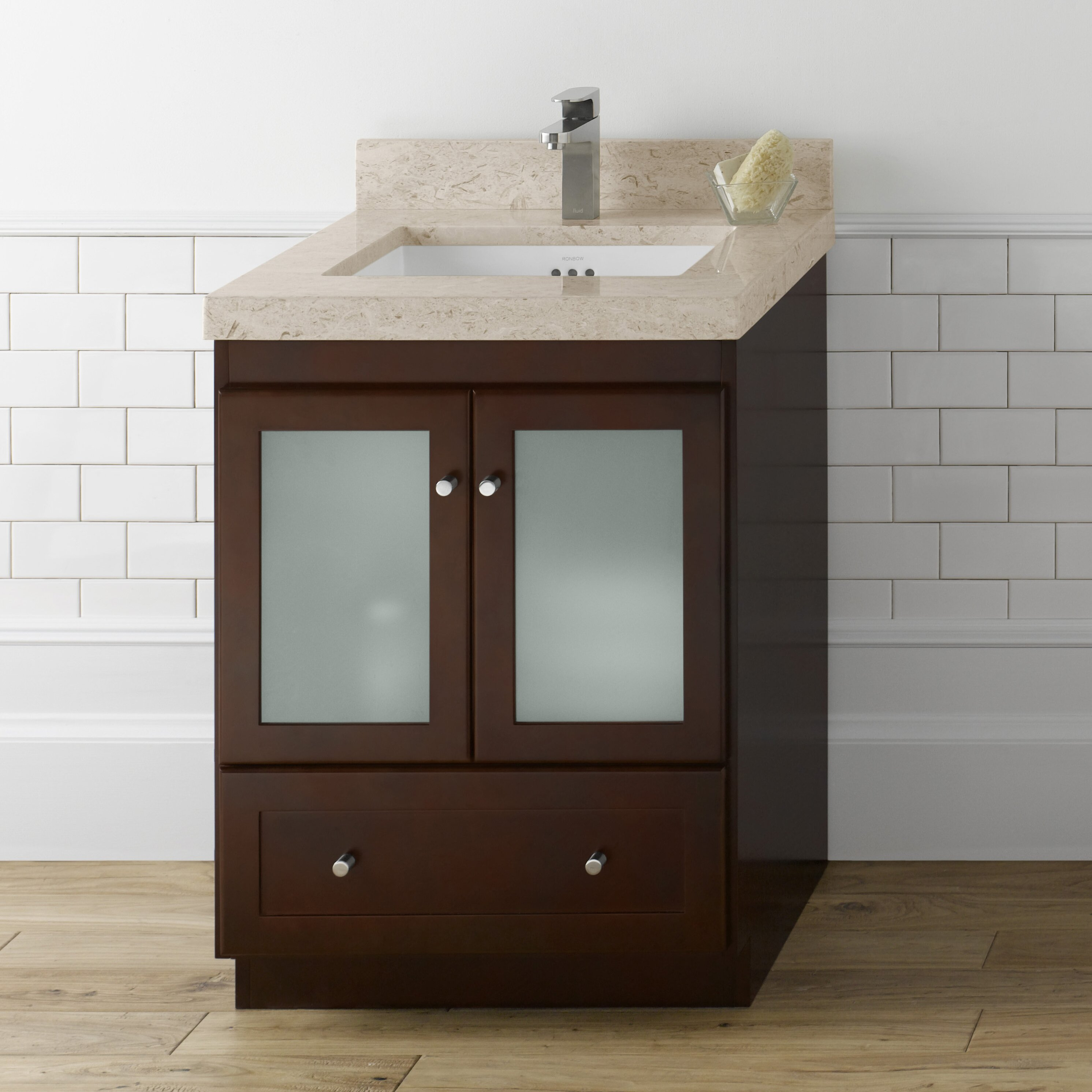 Ronbow Shaker 75 Double Bathroom Vanity Set Reviews