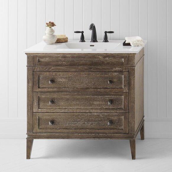 Ronbow Laurel 36 Single Bathroom Vanity Set Reviews Wayfair