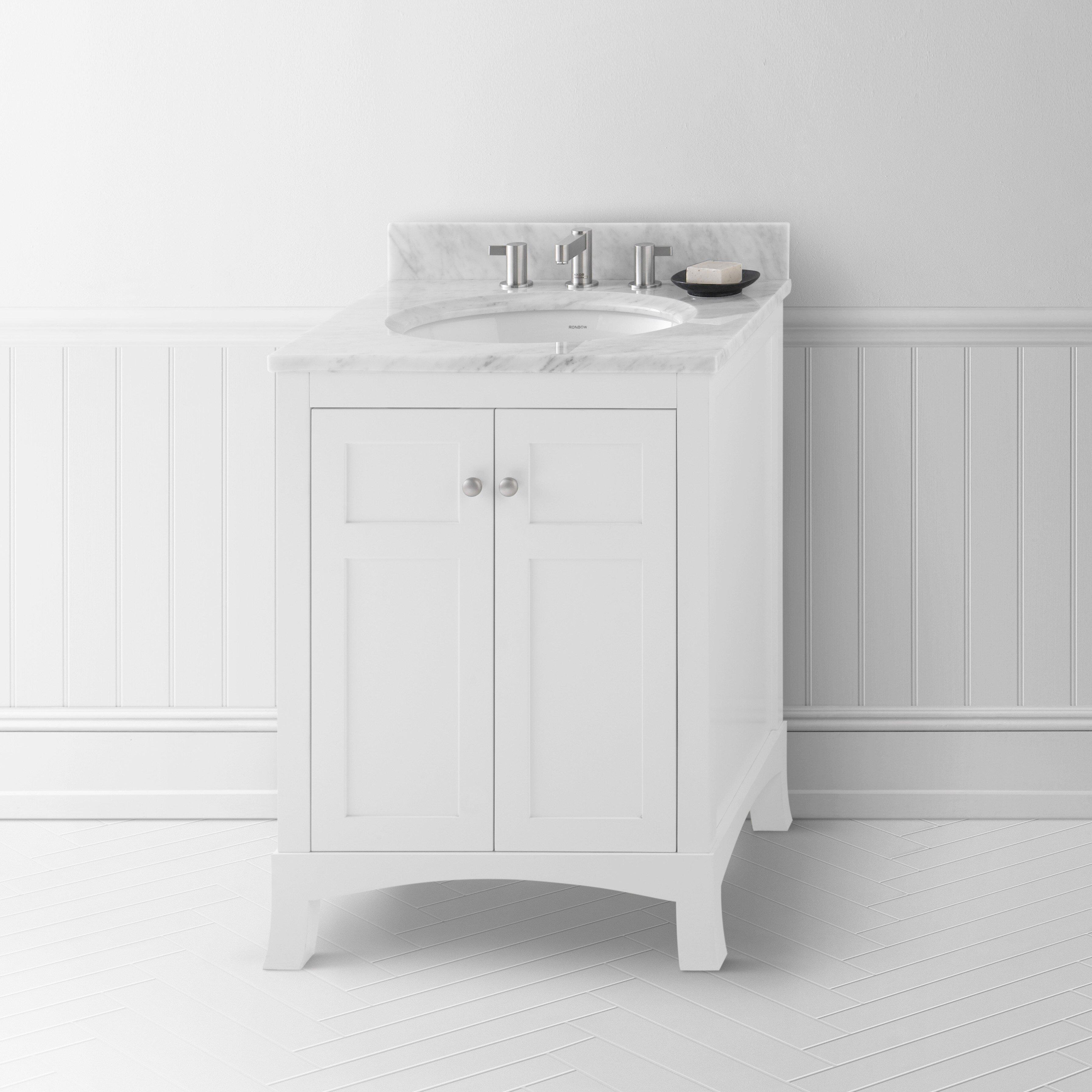 Ronbow Hampton 24 Quot Single Bathroom Vanity Set Amp Reviews