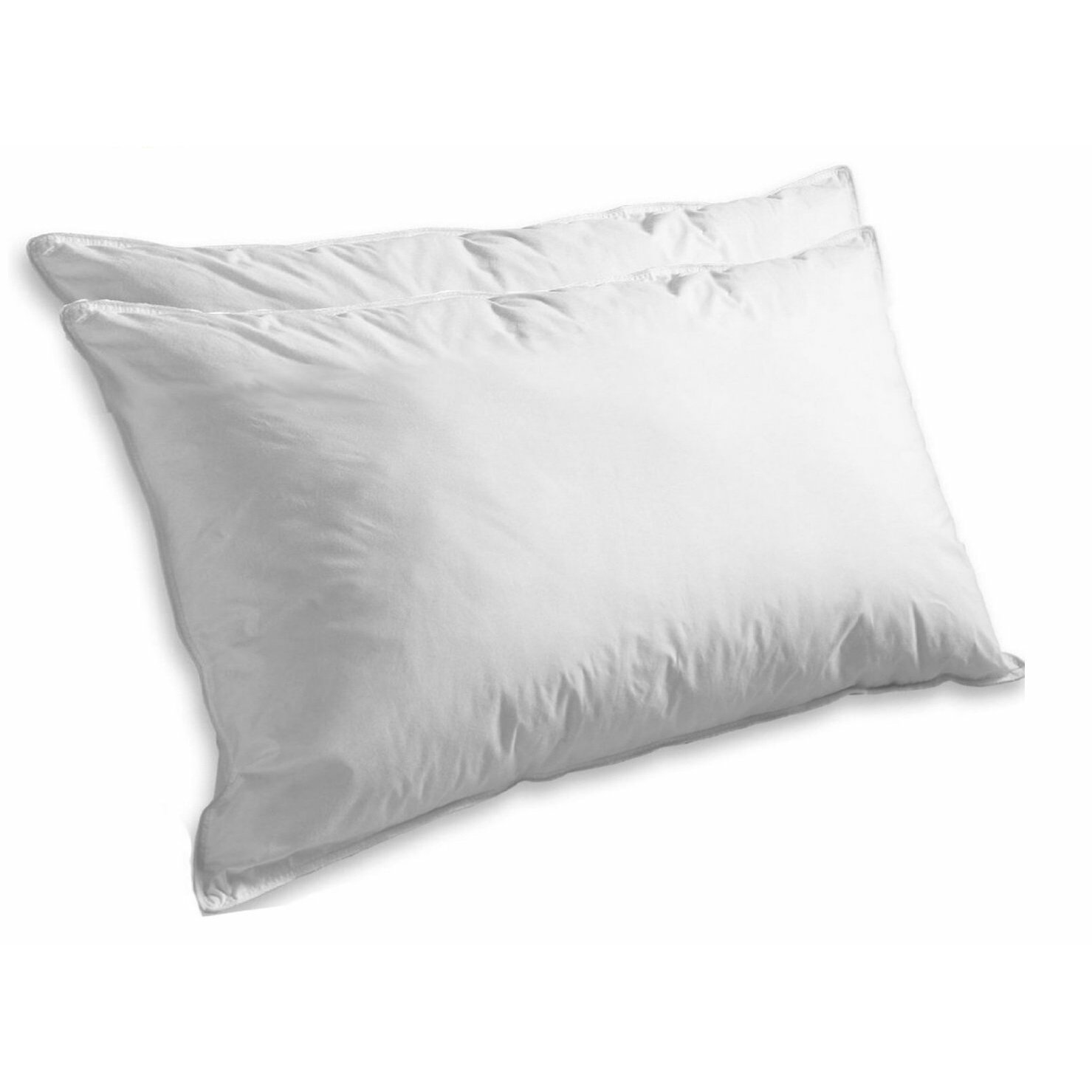 Elegant comfort super soft luxurious feather goose down for Best soft down pillow
