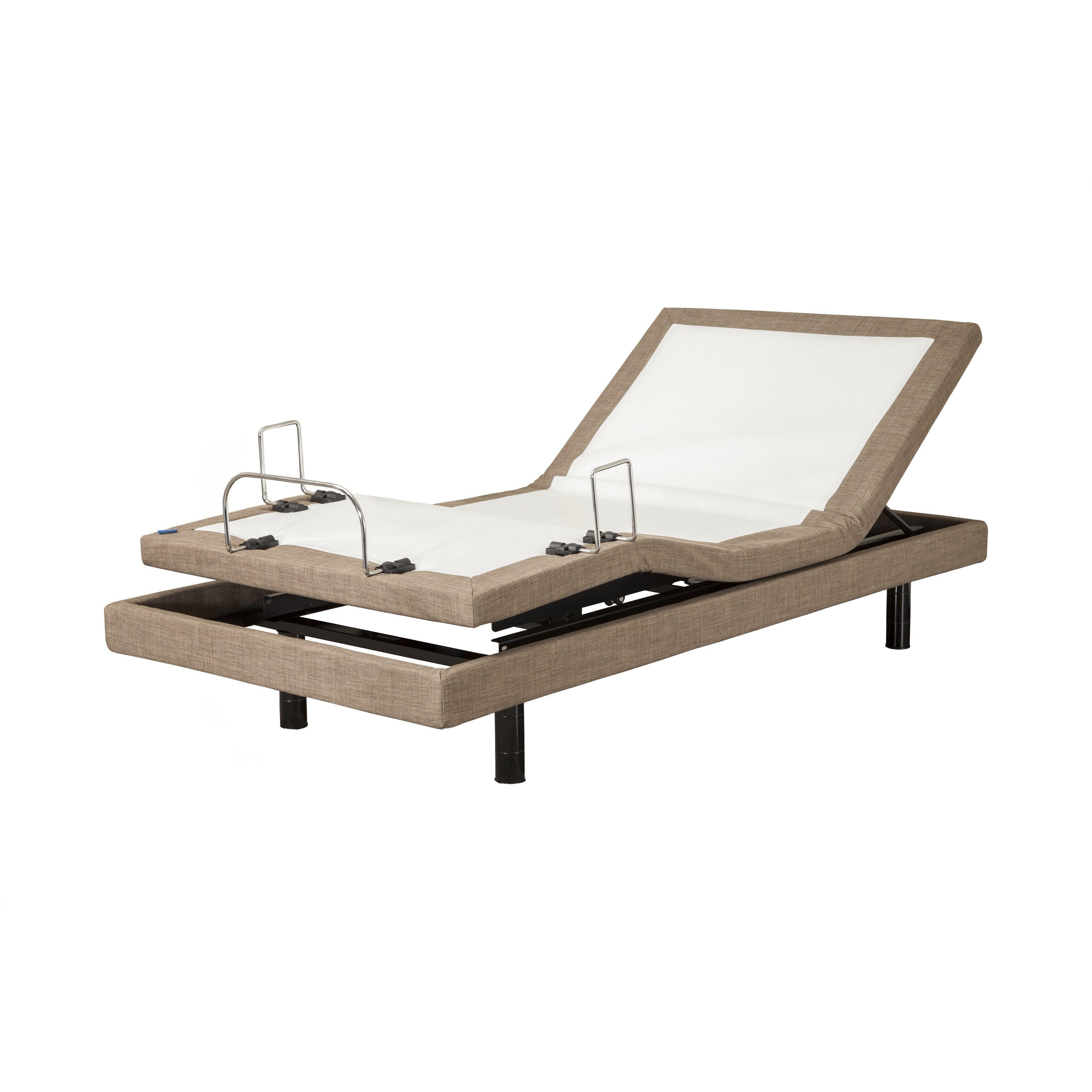 Adjustable Beds For Two : Blissfulnights dahlia manual quot memory foam mattress with